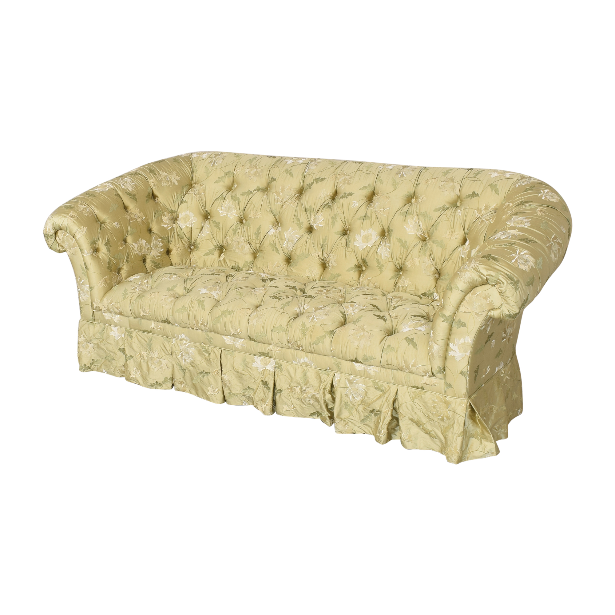 Lillian August Lillian August Chesterfield Floral Sofa Classic Sofas