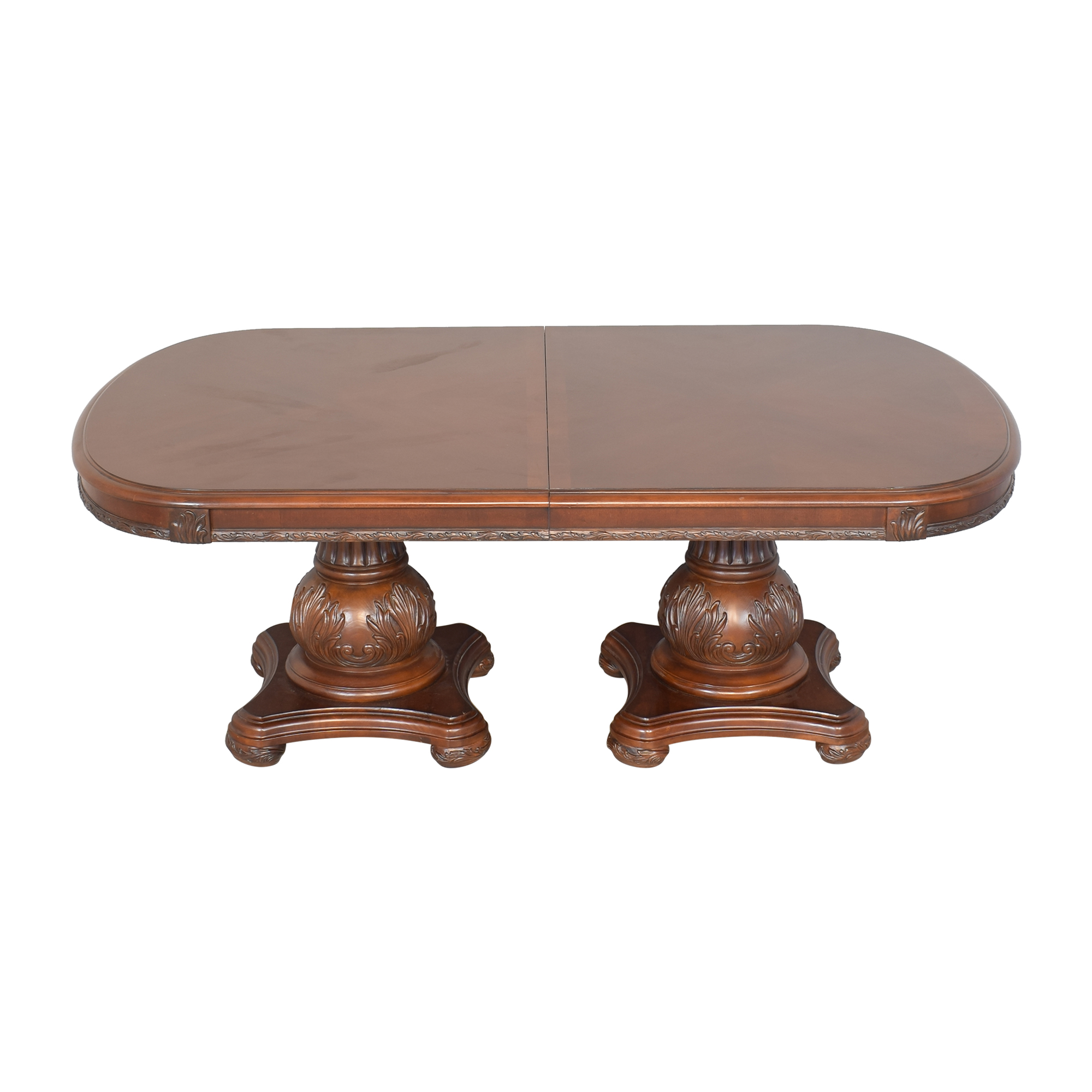 American Drew Double Pedestal Extendable Dining Room Table / Tables