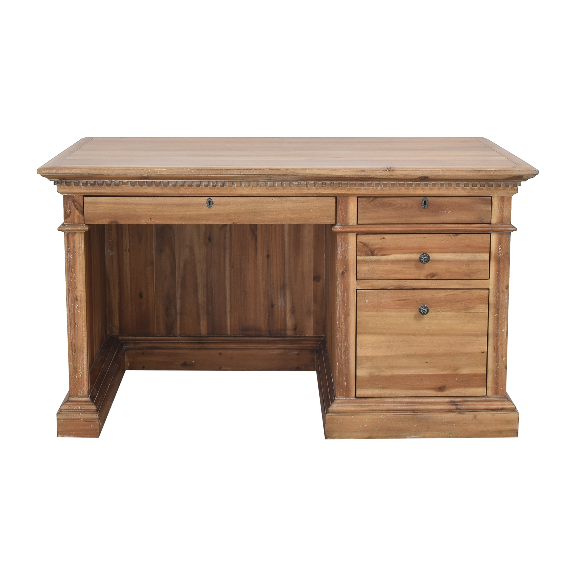 Restoration Hardware St. James Pedestal Desk sale