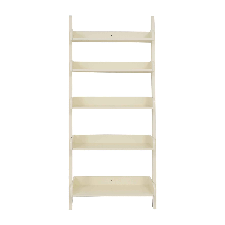 buy Pottery Barn Studio Ladder Shelf Pottery Barn Bookcases & Shelving
