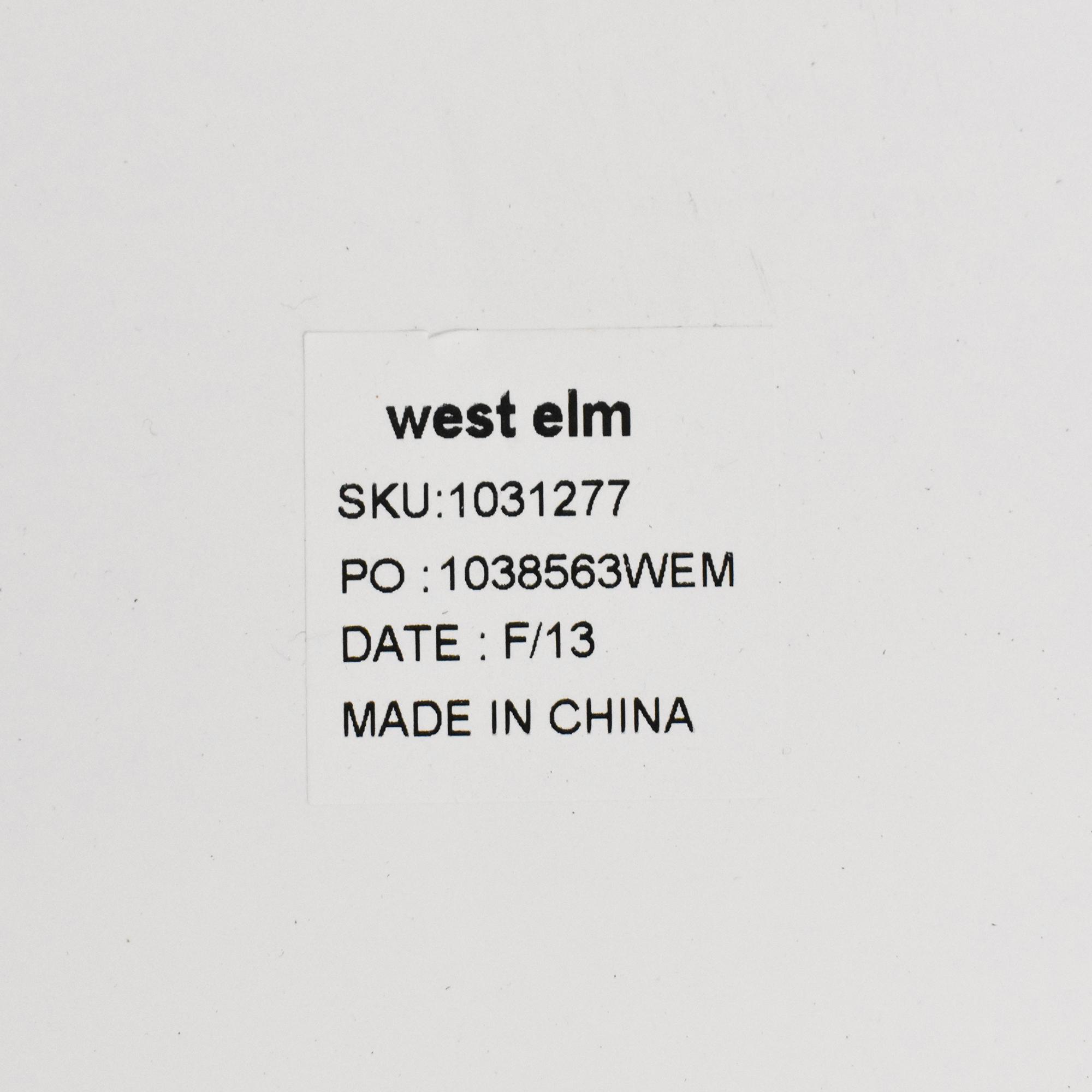West Elm West Elm Parsons Low Shelf pa