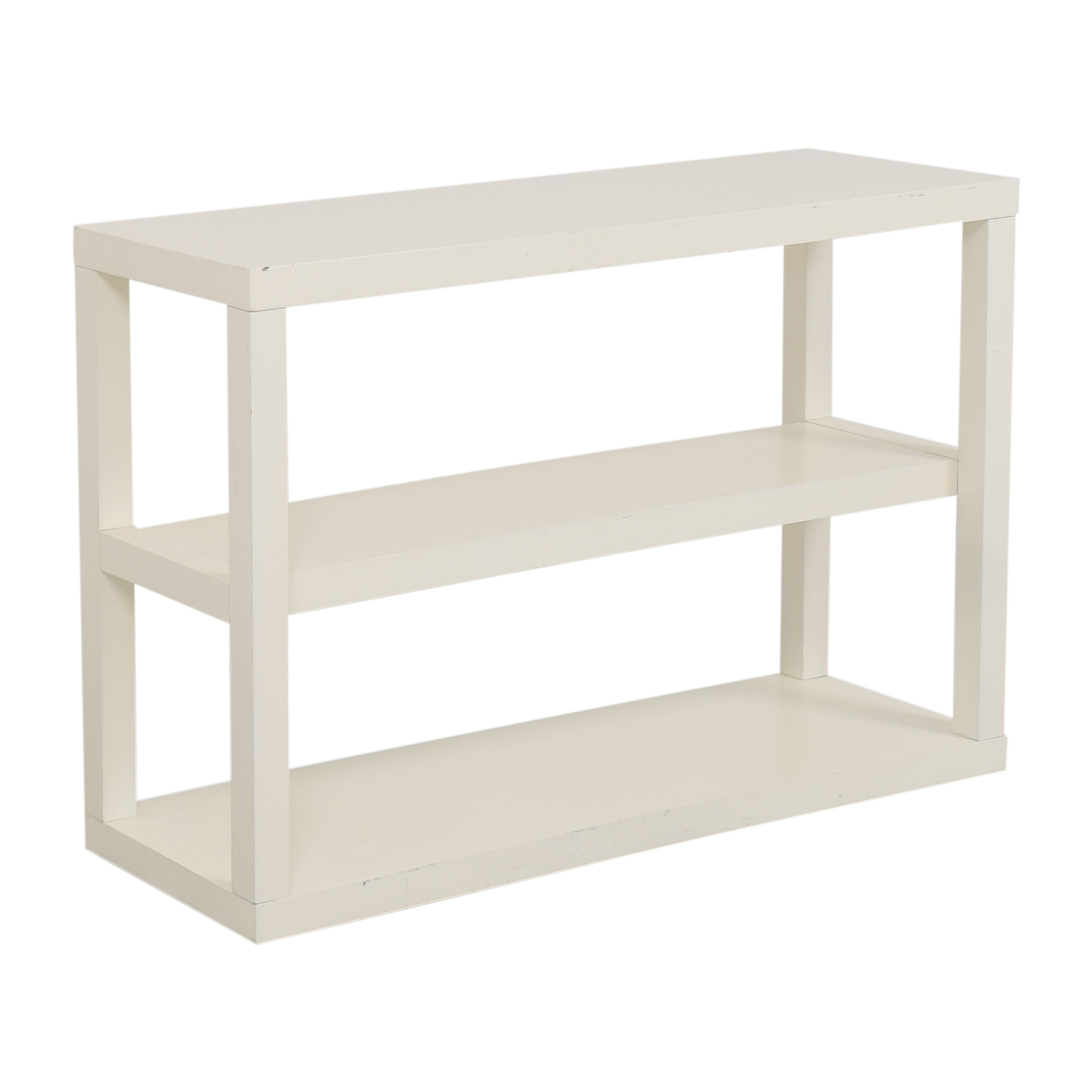 West Elm Parsons Low Shelf / Storage