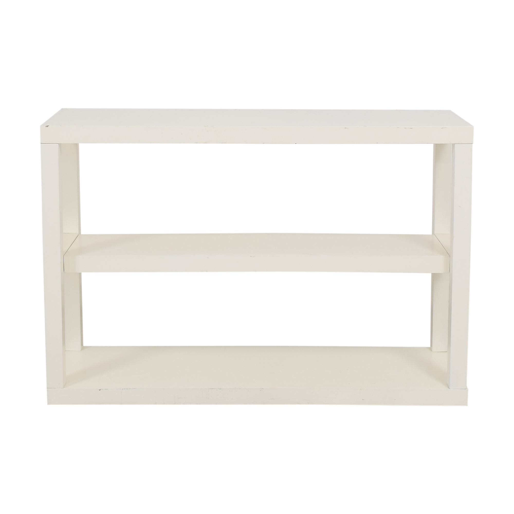 West Elm West Elm Parsons Low Shelf used
