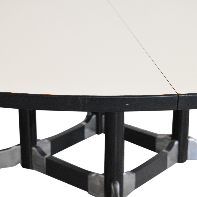 buy Herman Miller Eames Mid-Century Conference Table Herman Miller Dinner Tables