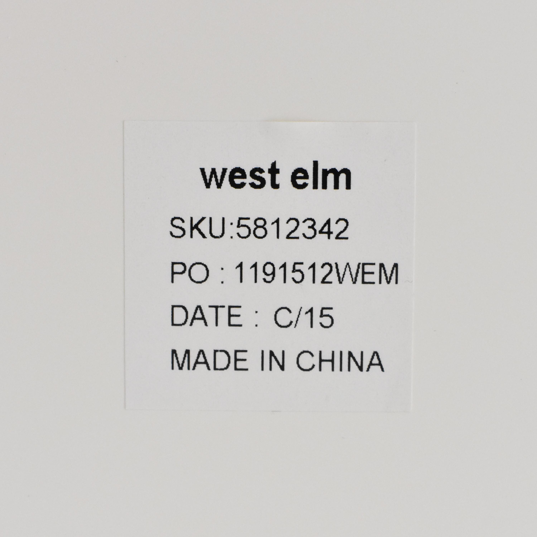 buy West Elm Parsons Tower West Elm Bookcases & Shelving