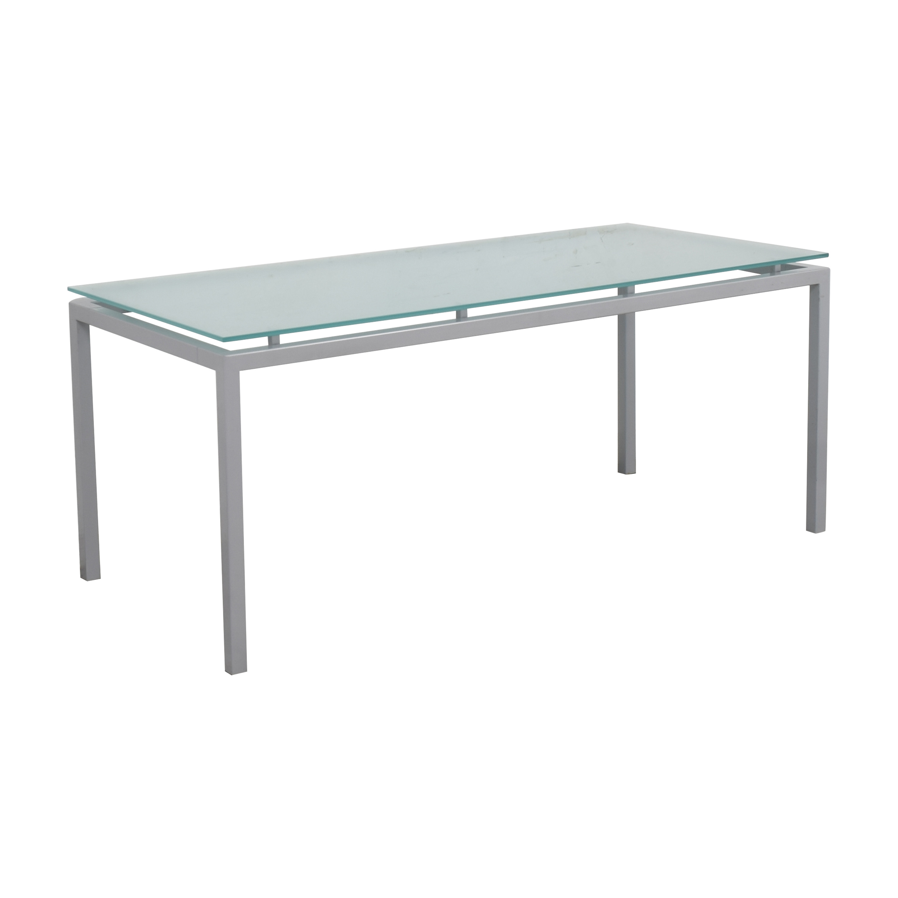 shop Room & Board Room & Board Dining Table with Floating Frosted Surface online