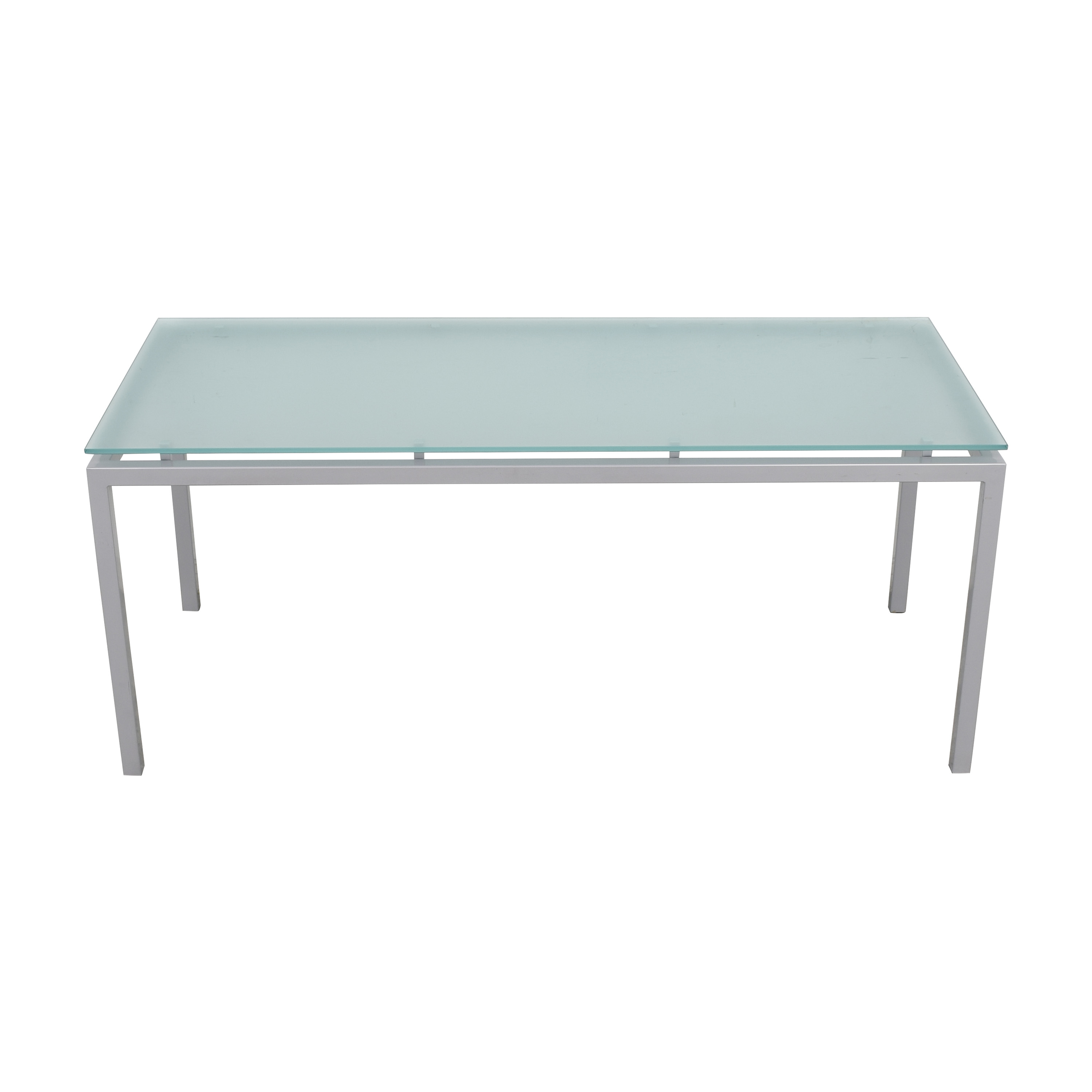 buy Room & Board Room & Board Dining Table with Floating Frosted Surface online