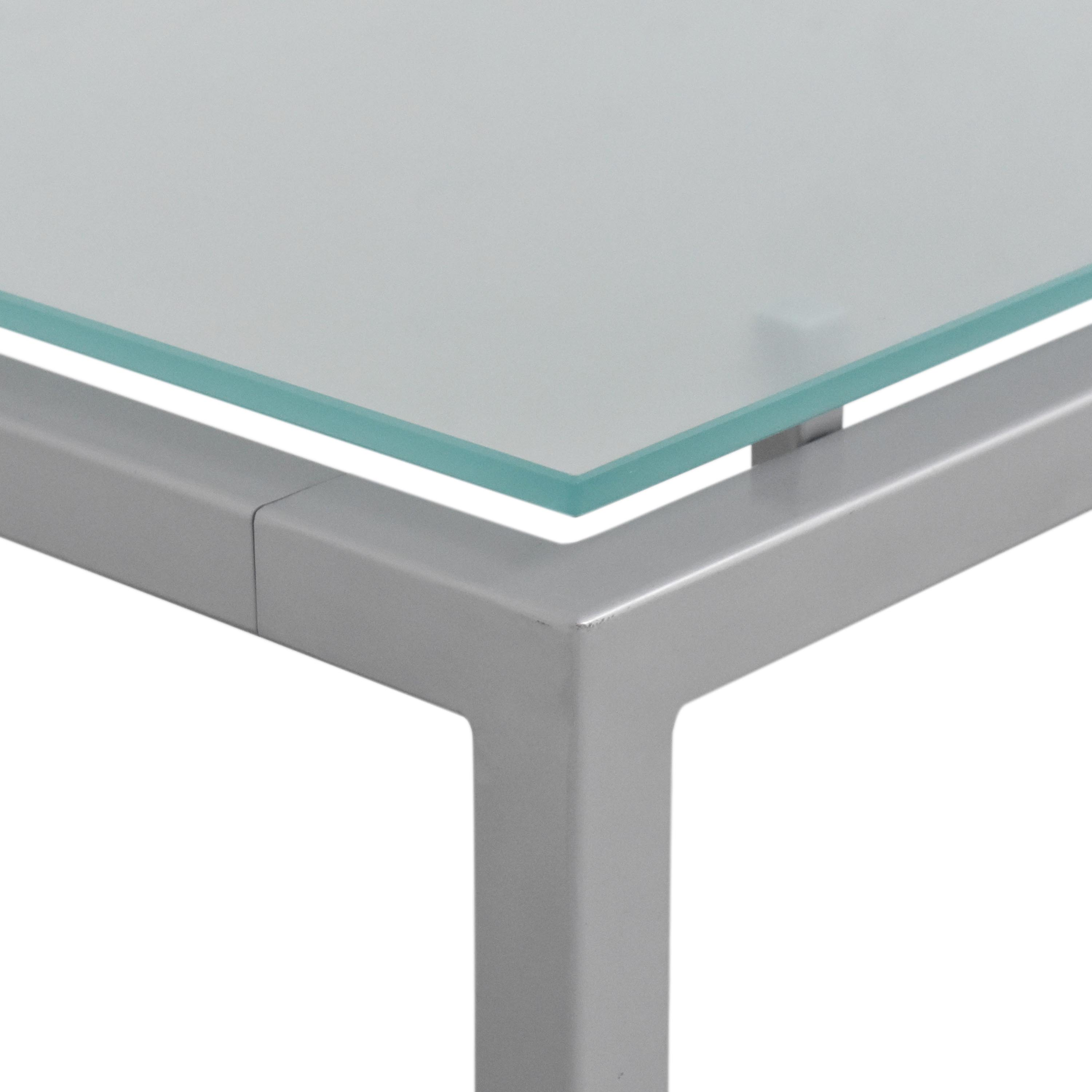 shop Room & Board Dining Table with Floating Frosted Surface Room & Board Tables