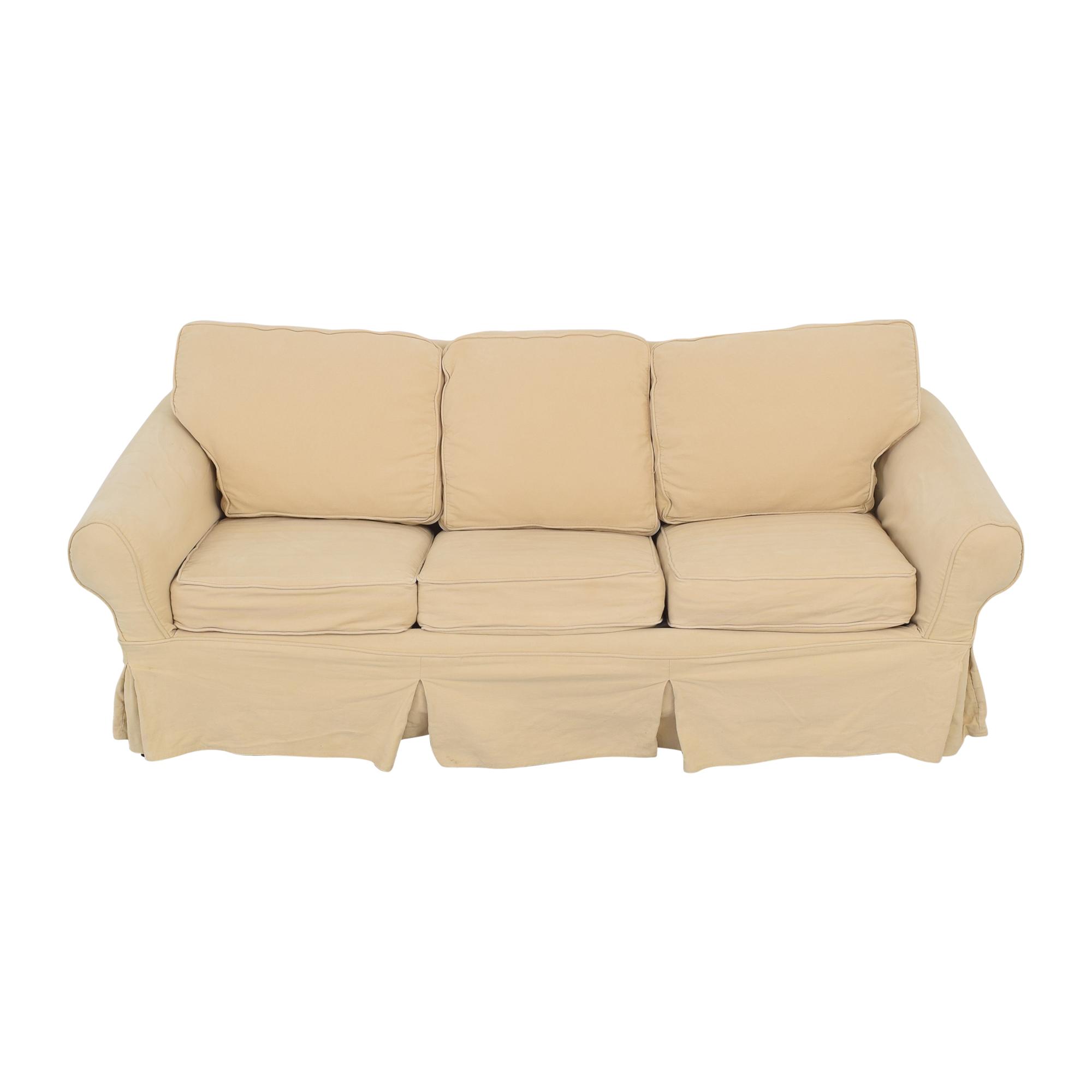Pottery Barn Sleeper Sofa by Mitchell Gold + Bob Williams sale