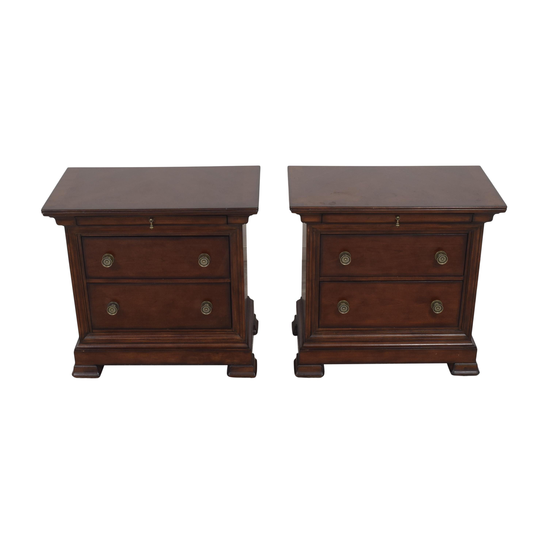 Bassett Furniture Bassett Furniture Three Drawer Nightstands discount