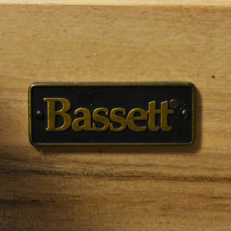 Bassett Furniture Bassett Furniture Three Drawer Nightstands nj