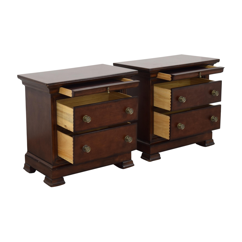 Bassett Furniture Bassett Furniture Three Drawer Nightstands