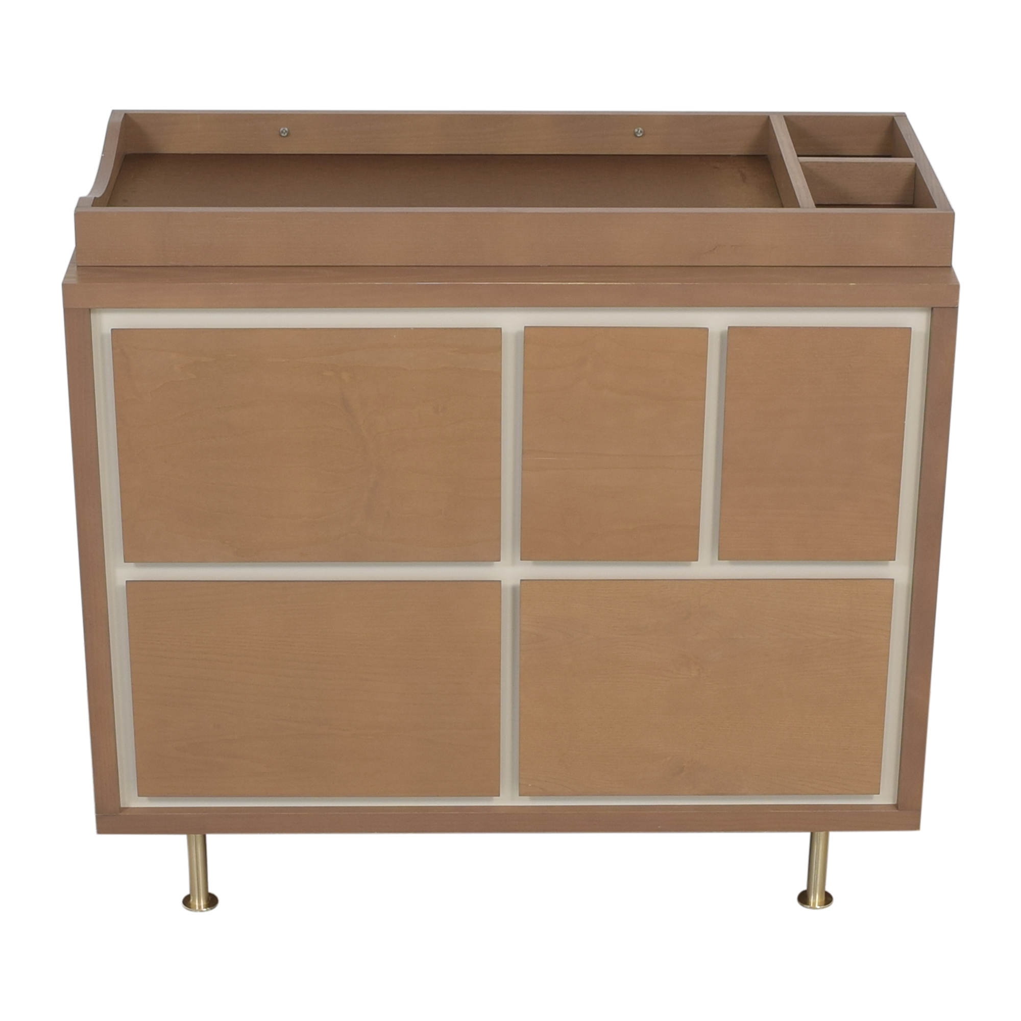 Nursery Works Nursery Works Novella Five Drawer Dresser with Changing Table Storage