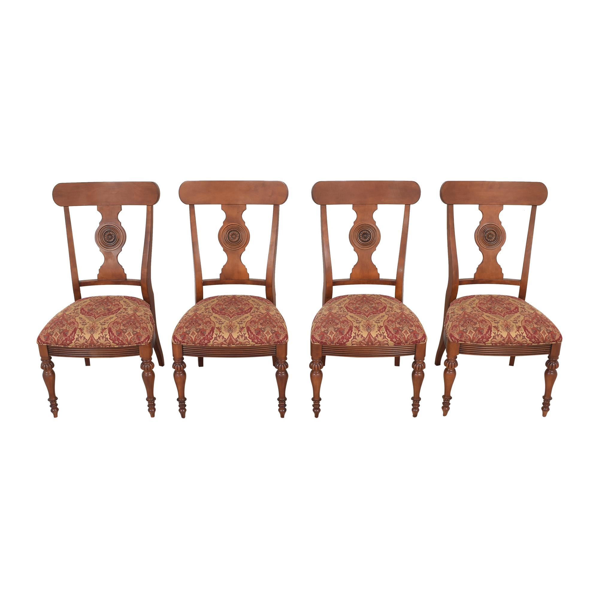 Ethan Allen Ethan Allen British Classic Splatback Dining Chairs ct