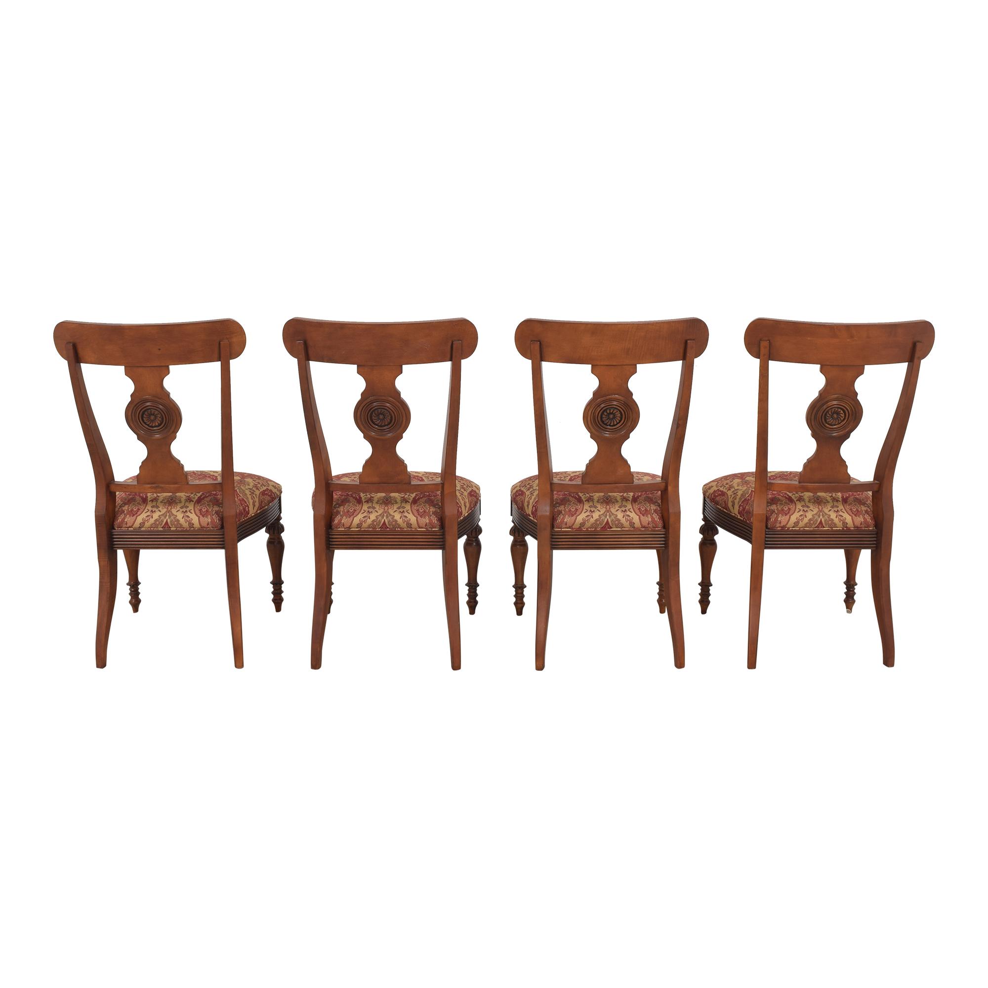 Ethan Allen British Classic Splatback Dining Chairs Ethan Allen