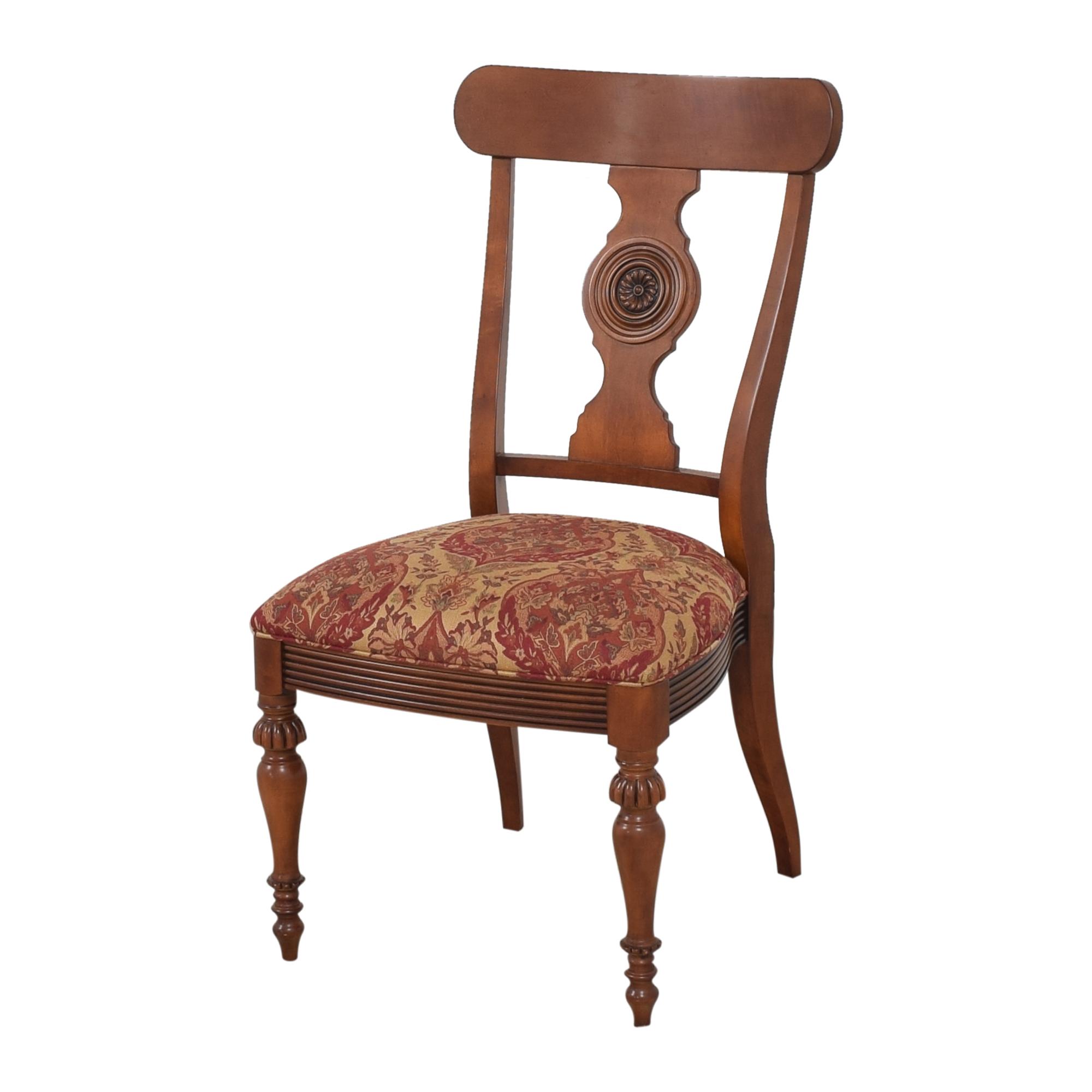 buy Ethan Allen Ethan Allen British Classic Splatback Dining Chairs online