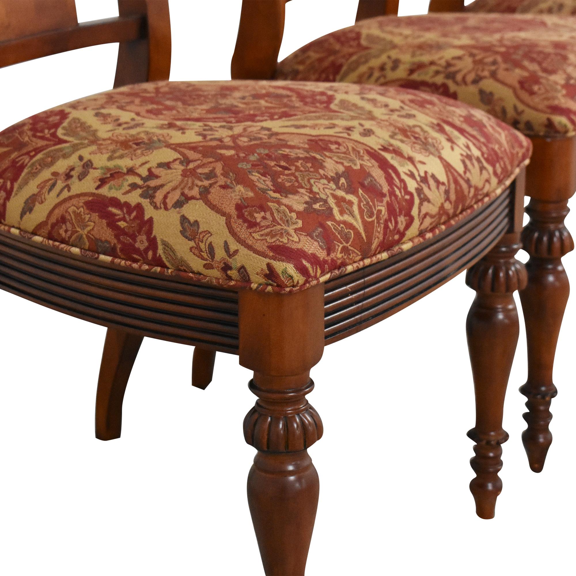 Ethan Allen Ethan Allen British Classic Splatback Dining Chairs