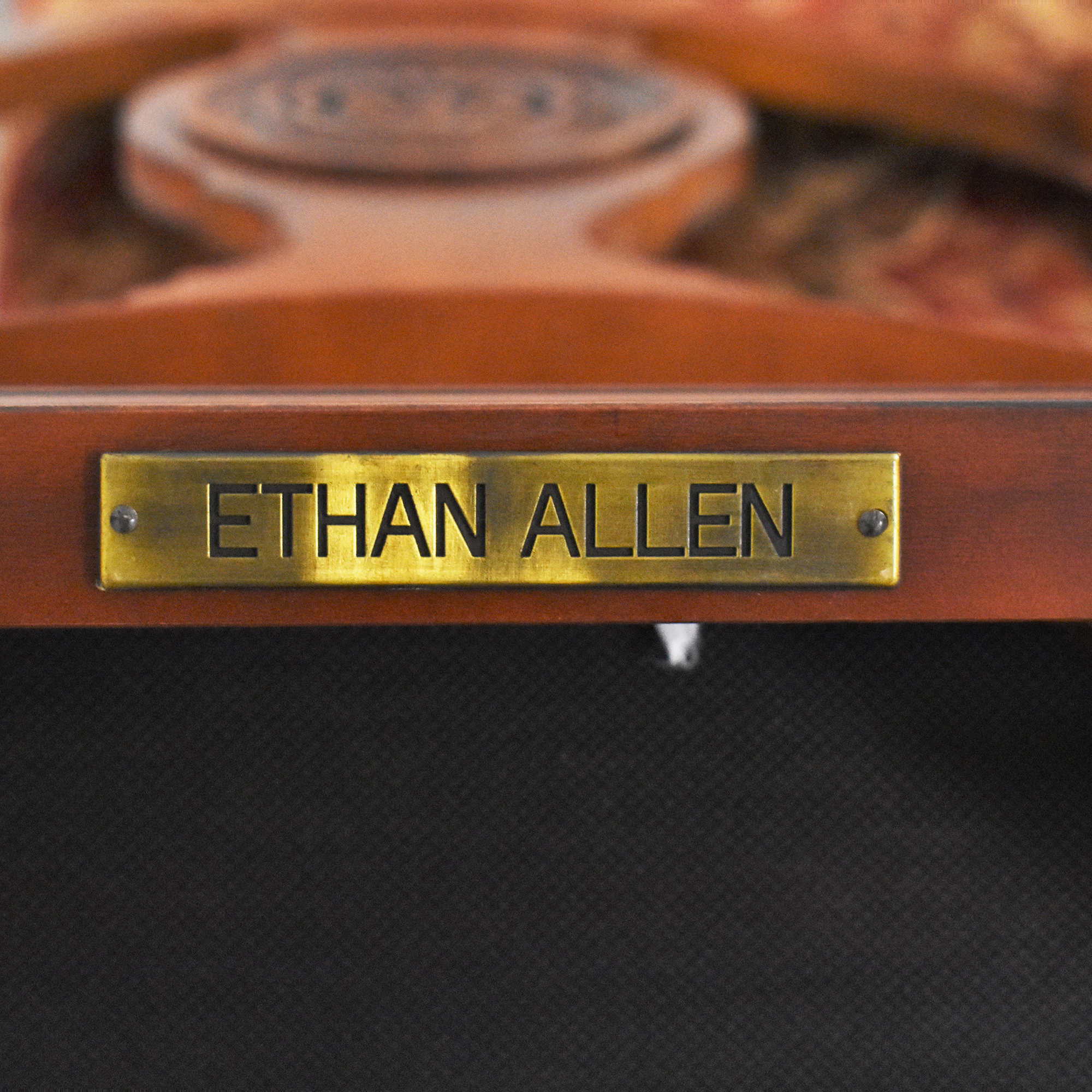 buy Ethan Allen British Classic Splatback Dining Chairs Ethan Allen