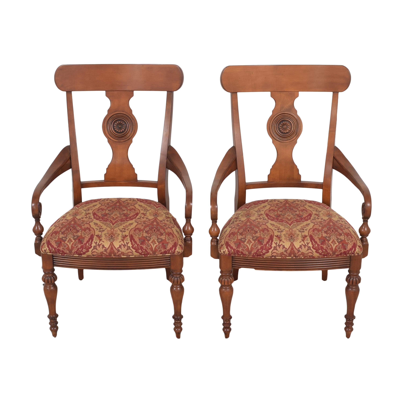 buy Ethan Allen British Classics Dining Arm Chairs Ethan Allen