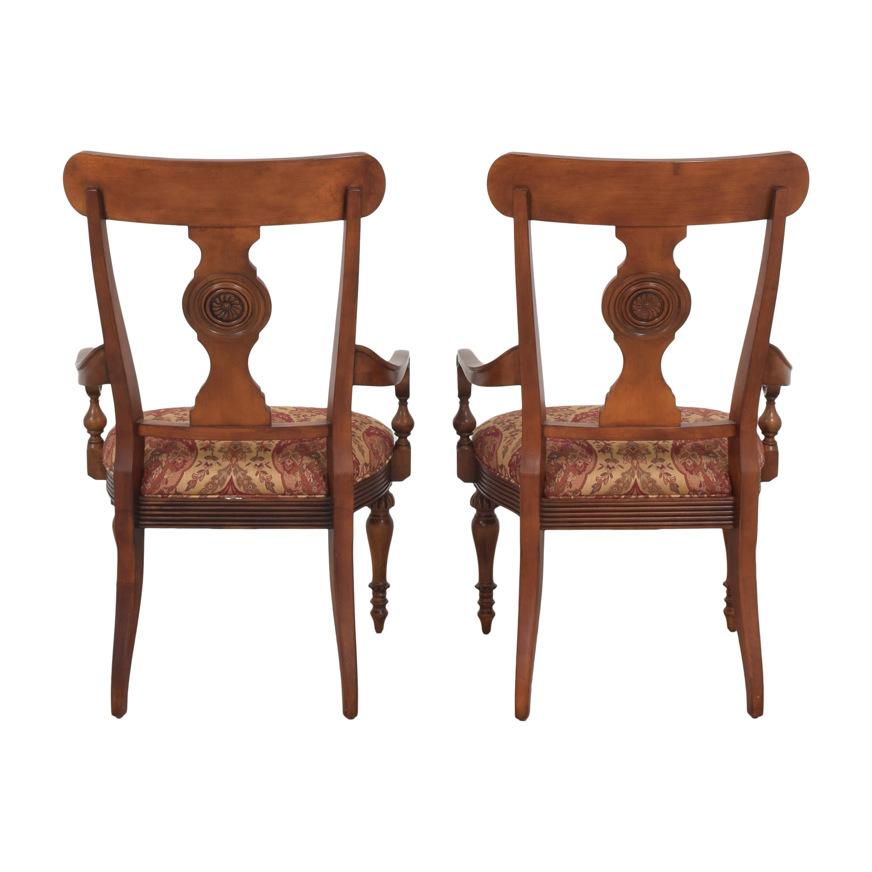shop Ethan Allen British Classics Dining Arm Chairs Ethan Allen