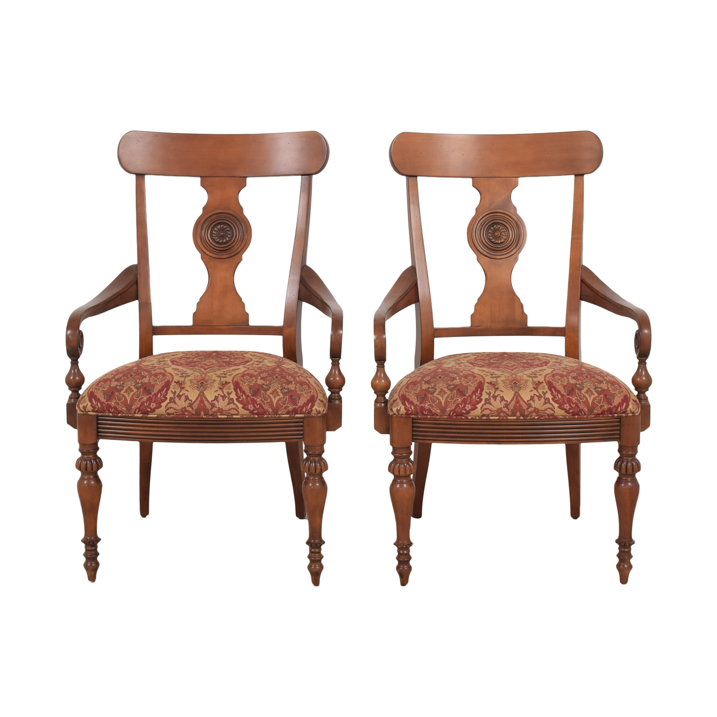 Ethan Allen British Classics Dining Arm Chairs / Chairs
