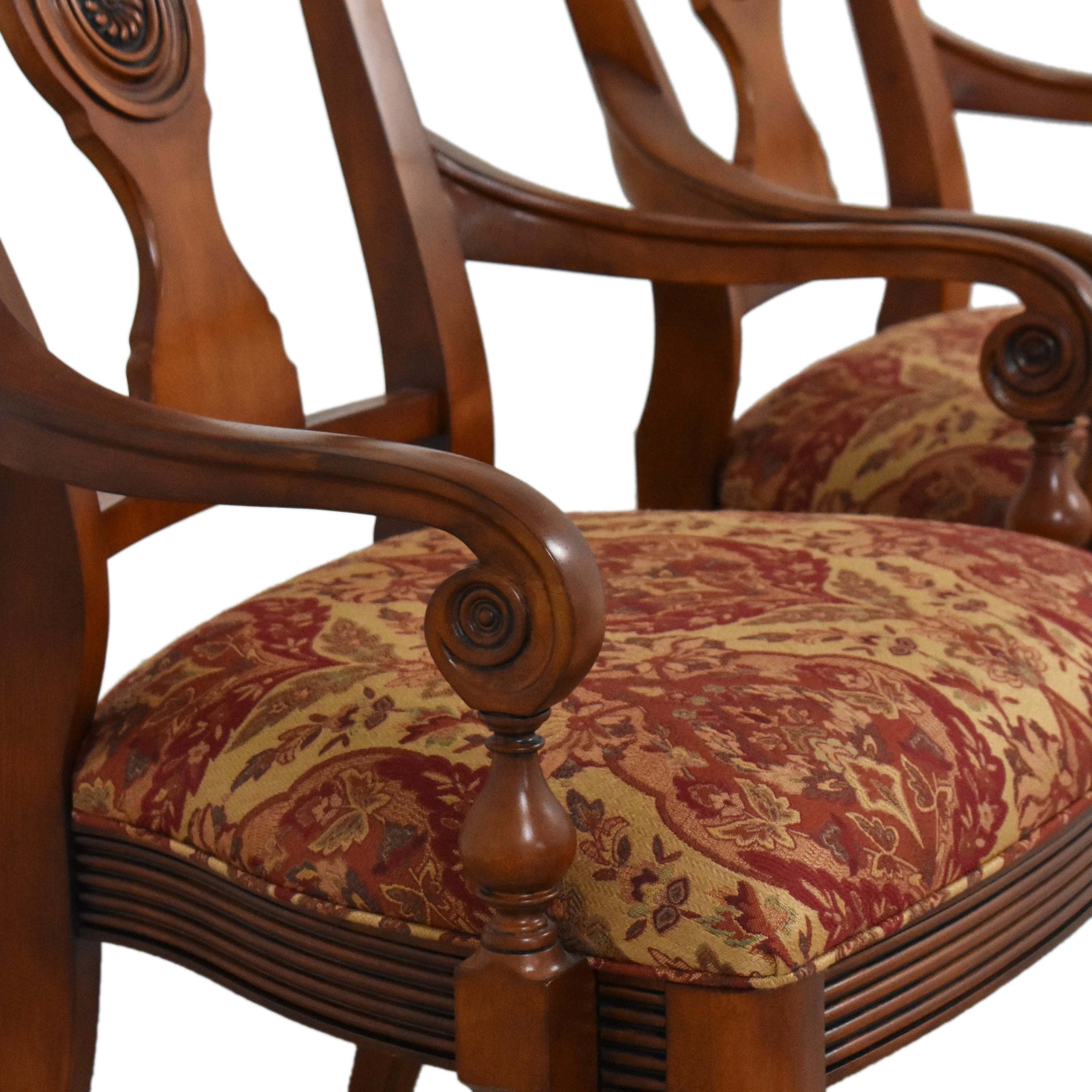 Ethan Allen Ethan Allen British Classics Dining Arm Chairs nyc