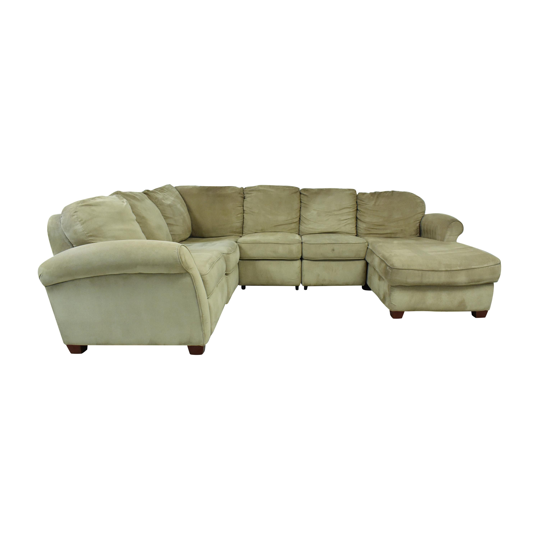 buy Lane Furniture Lane Furniture Reclining Chaise Sectional Sofa online