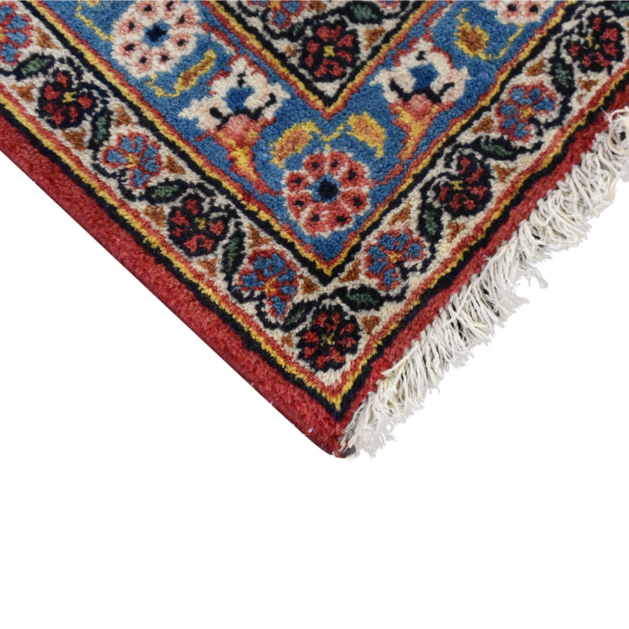 Vintage Kashan-Style Area Rug