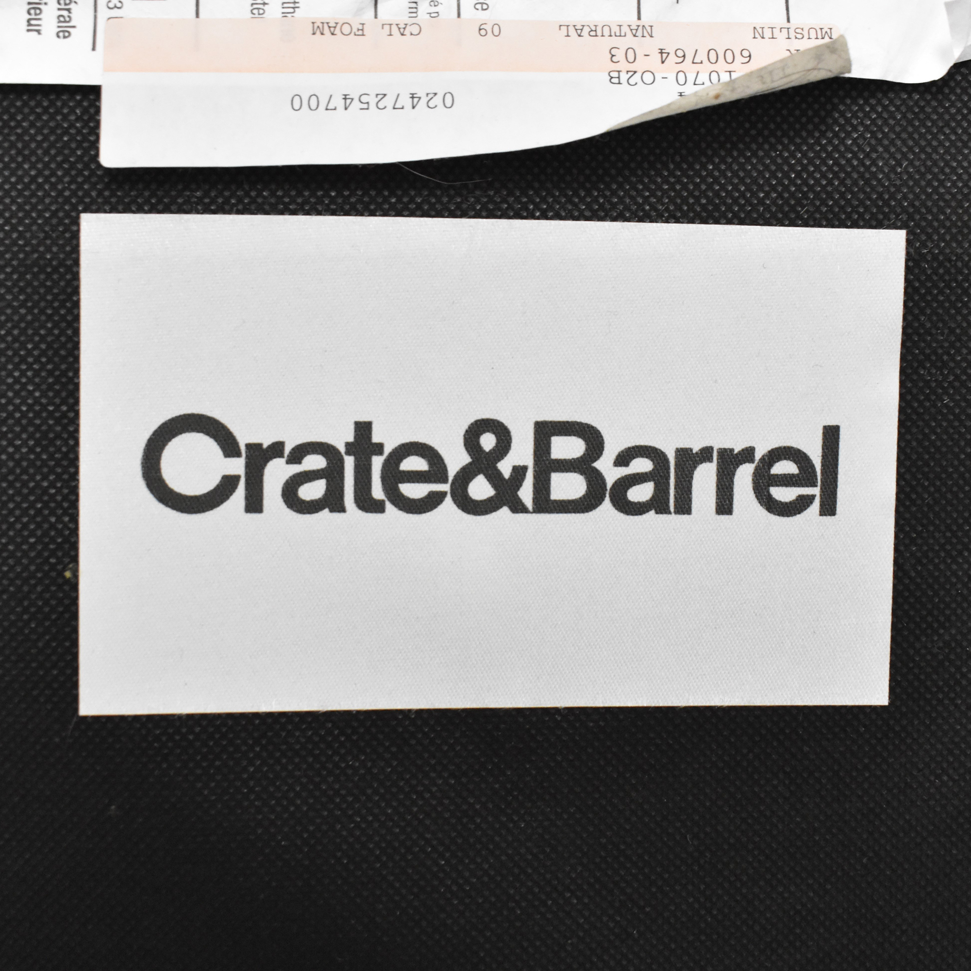 Crate & Barrel Crate & Barrel Lounge II Sofa with Two Ottomans on Casters discount
