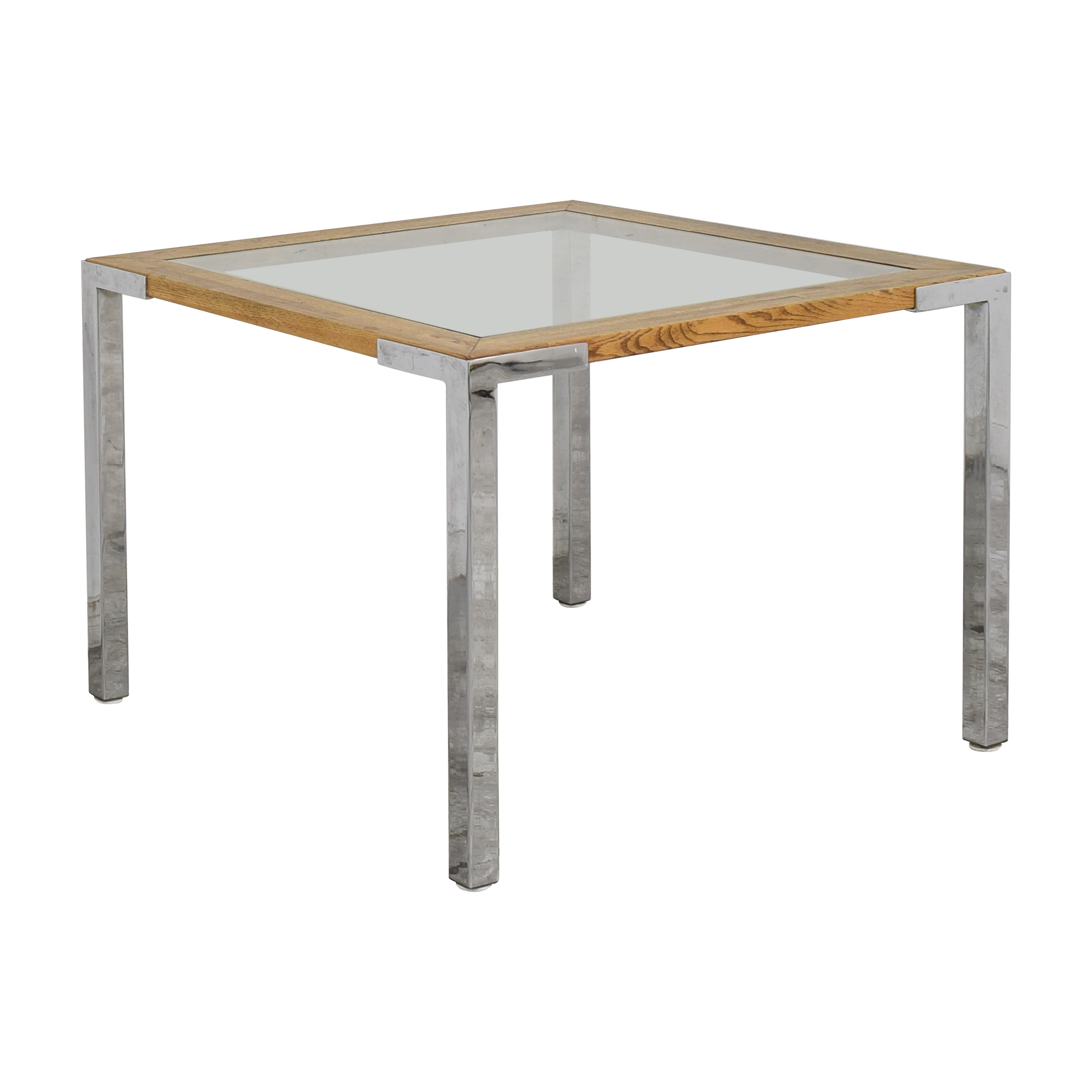 buy Mid Century Modern Square Dining Table  Tables