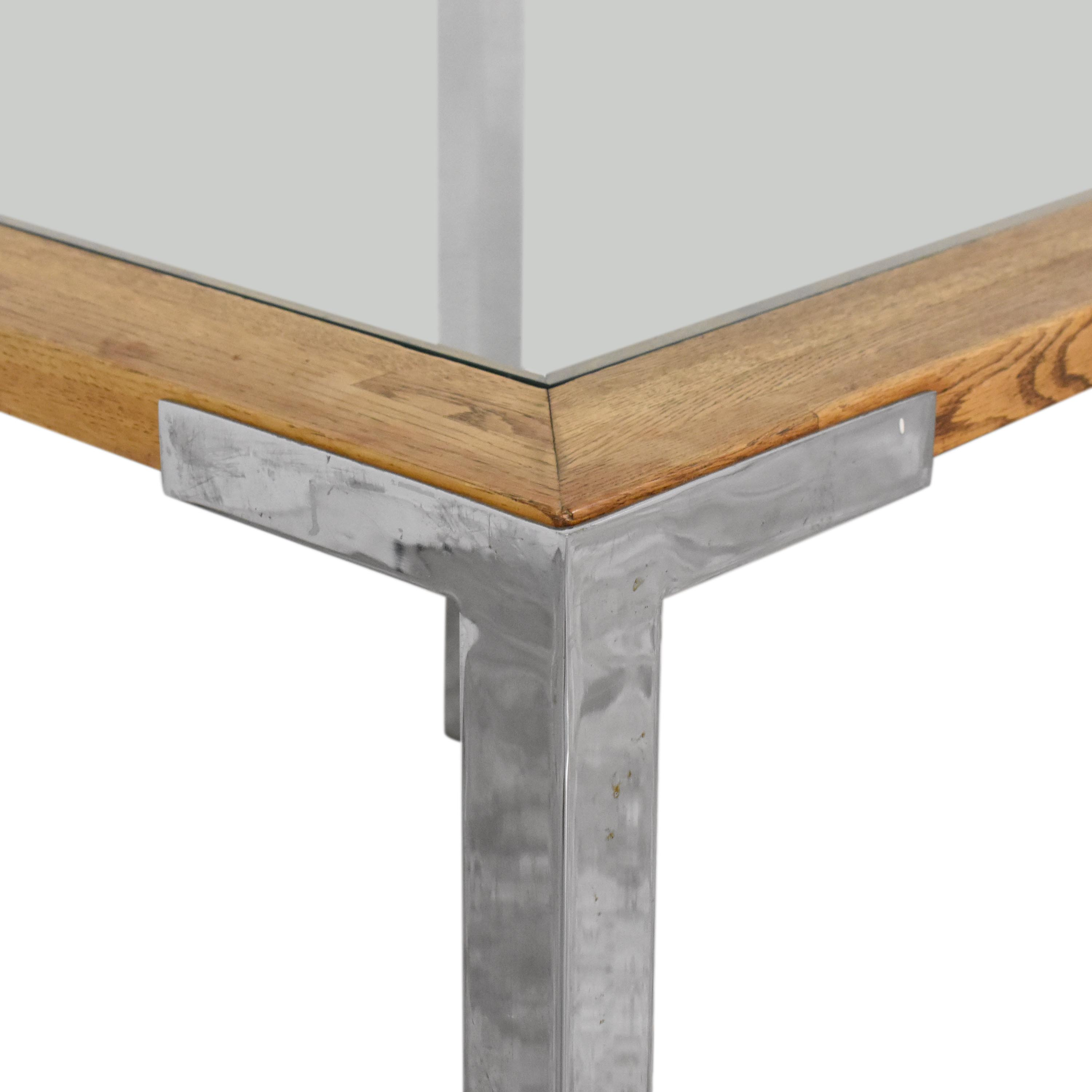 Mid Century Modern Square Dining Table for sale