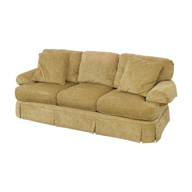 Hickory White Hickory White Skirted Three Cushion Sofa Classic Sofas