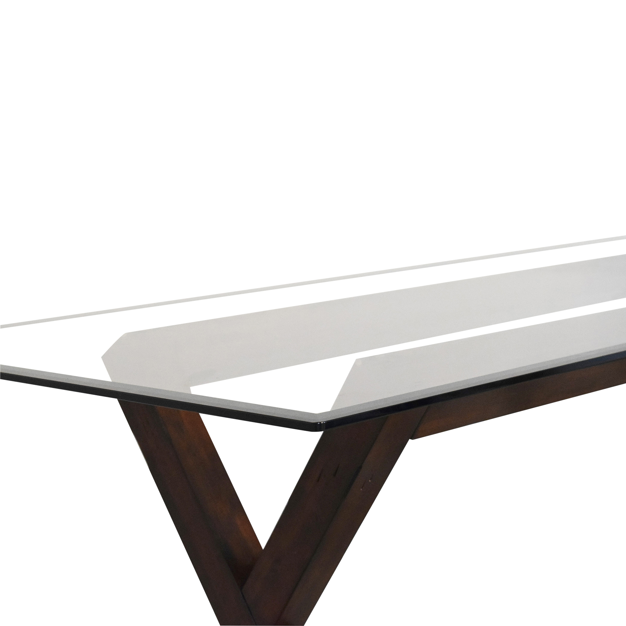 shop Dining Table with Transparent Surface  Tables