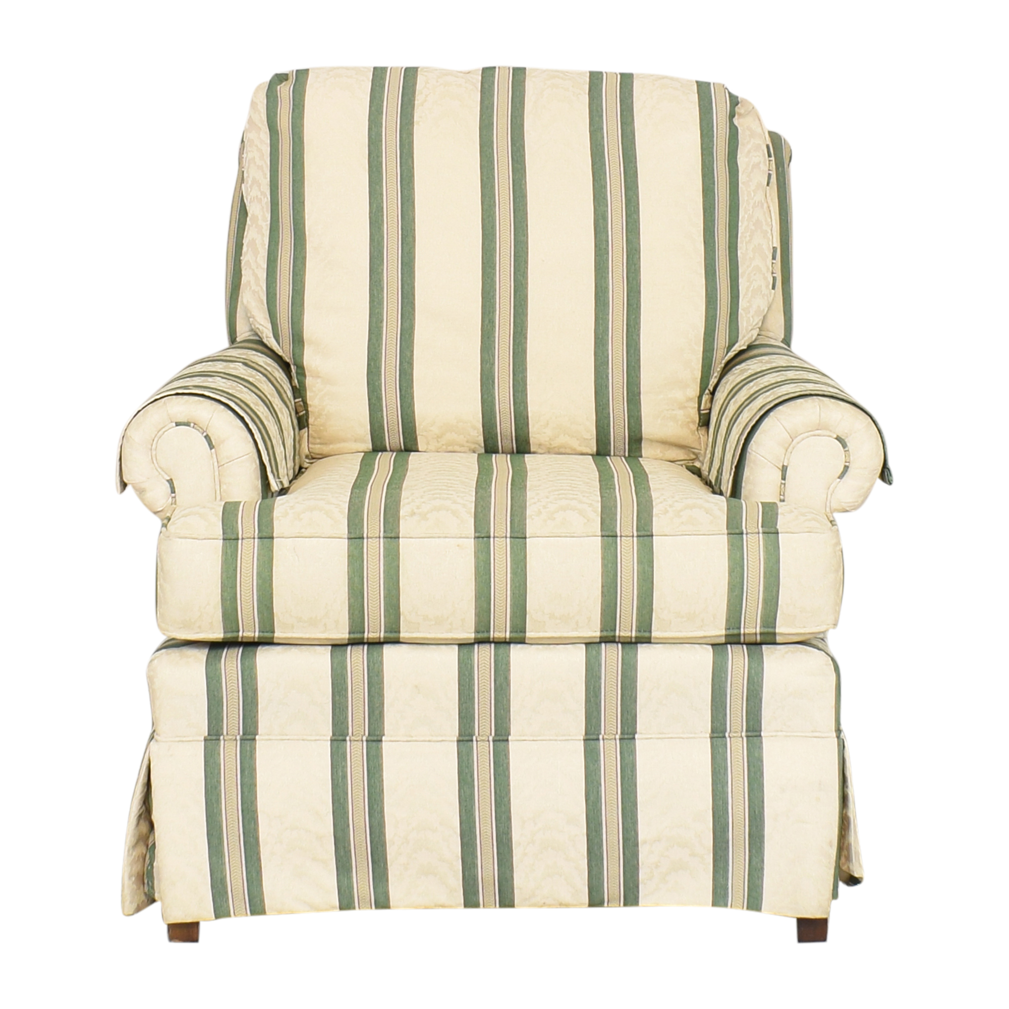 buy Pembrook Chair Upholstered Accent Chair and Ottoman Pembrook Chair Chairs