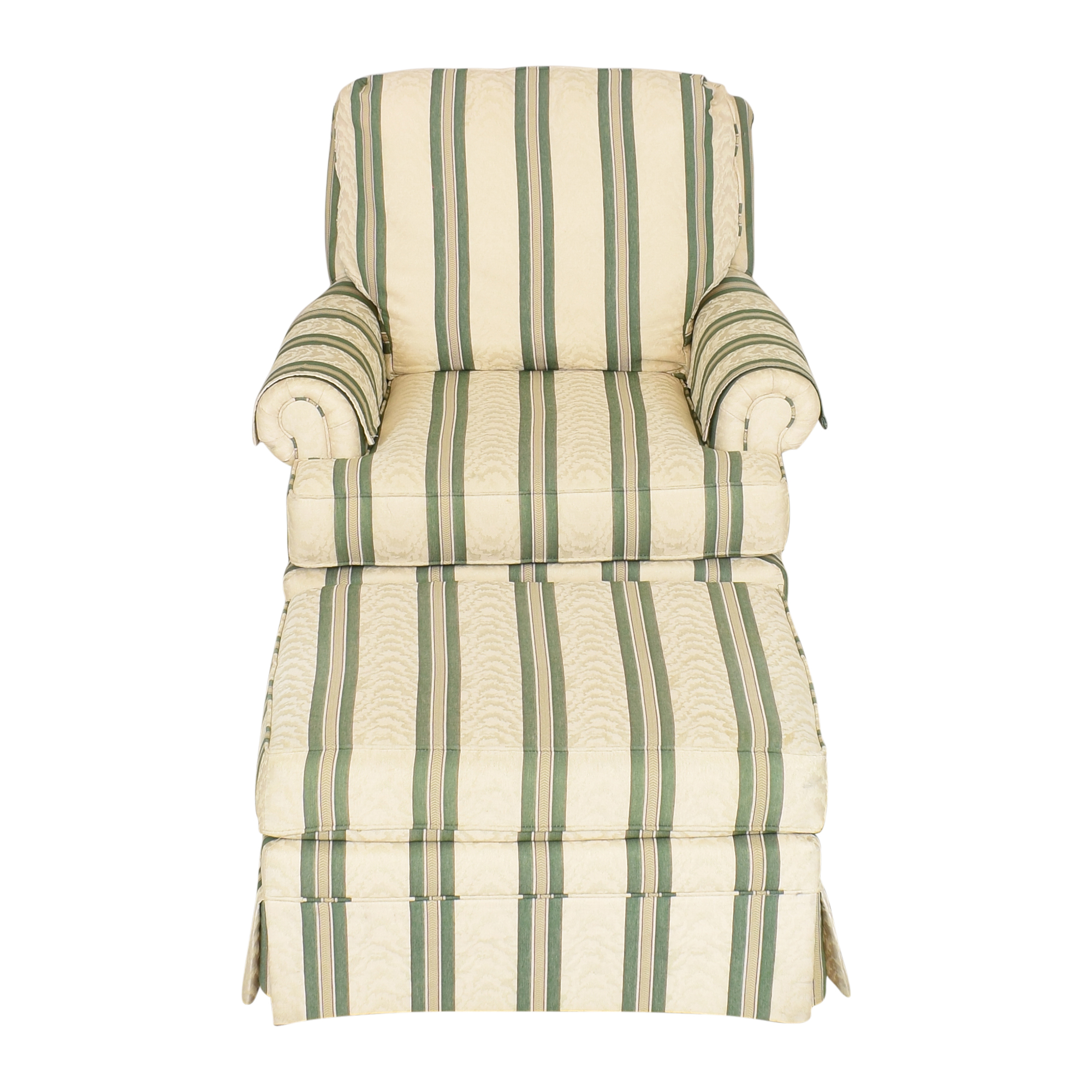 shop Pembrook Chair Pembrook Chair Upholstered Accent Chair and Ottoman online
