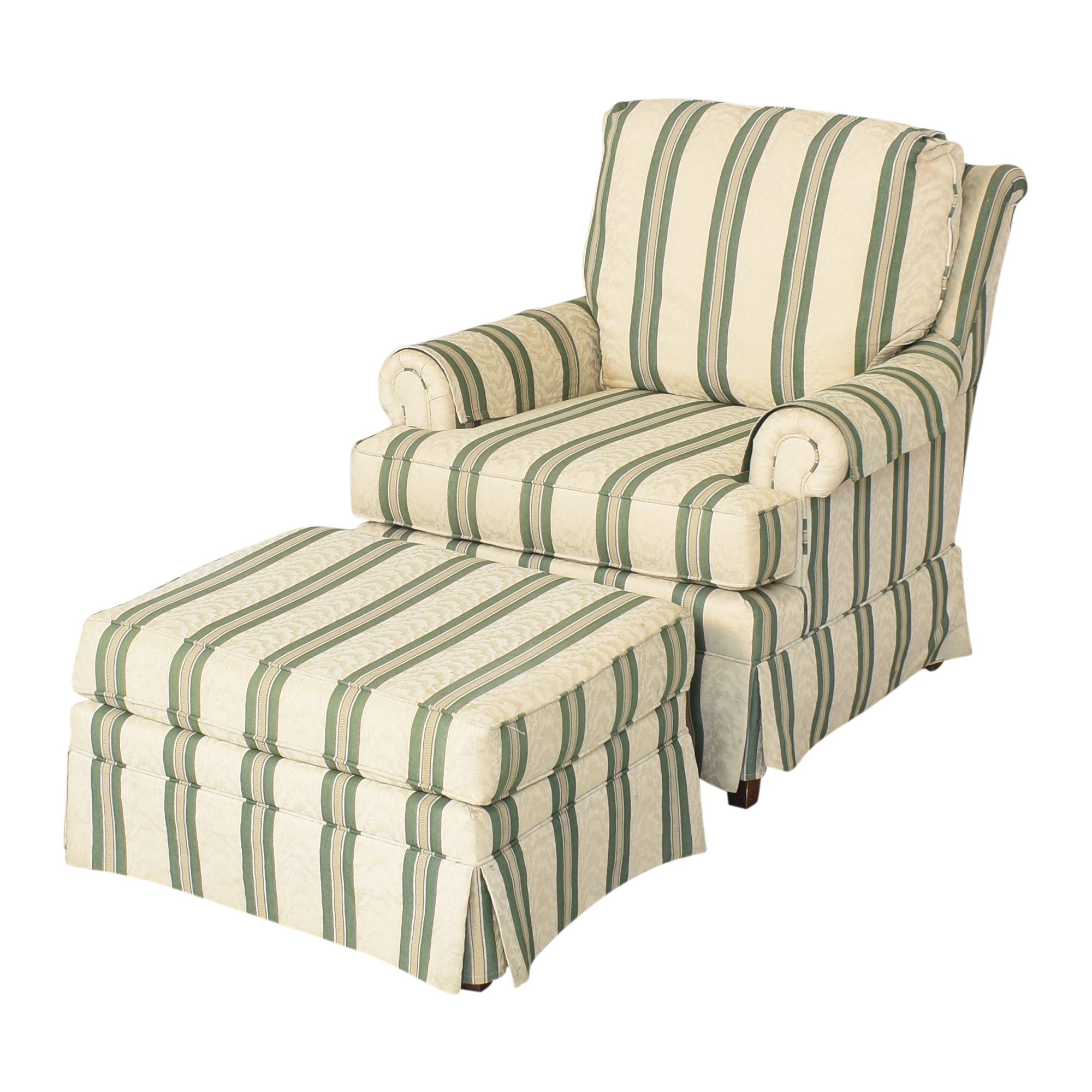 Pembrook Chair Pembrook Chair Upholstered Accent Chair and Ottoman nyc