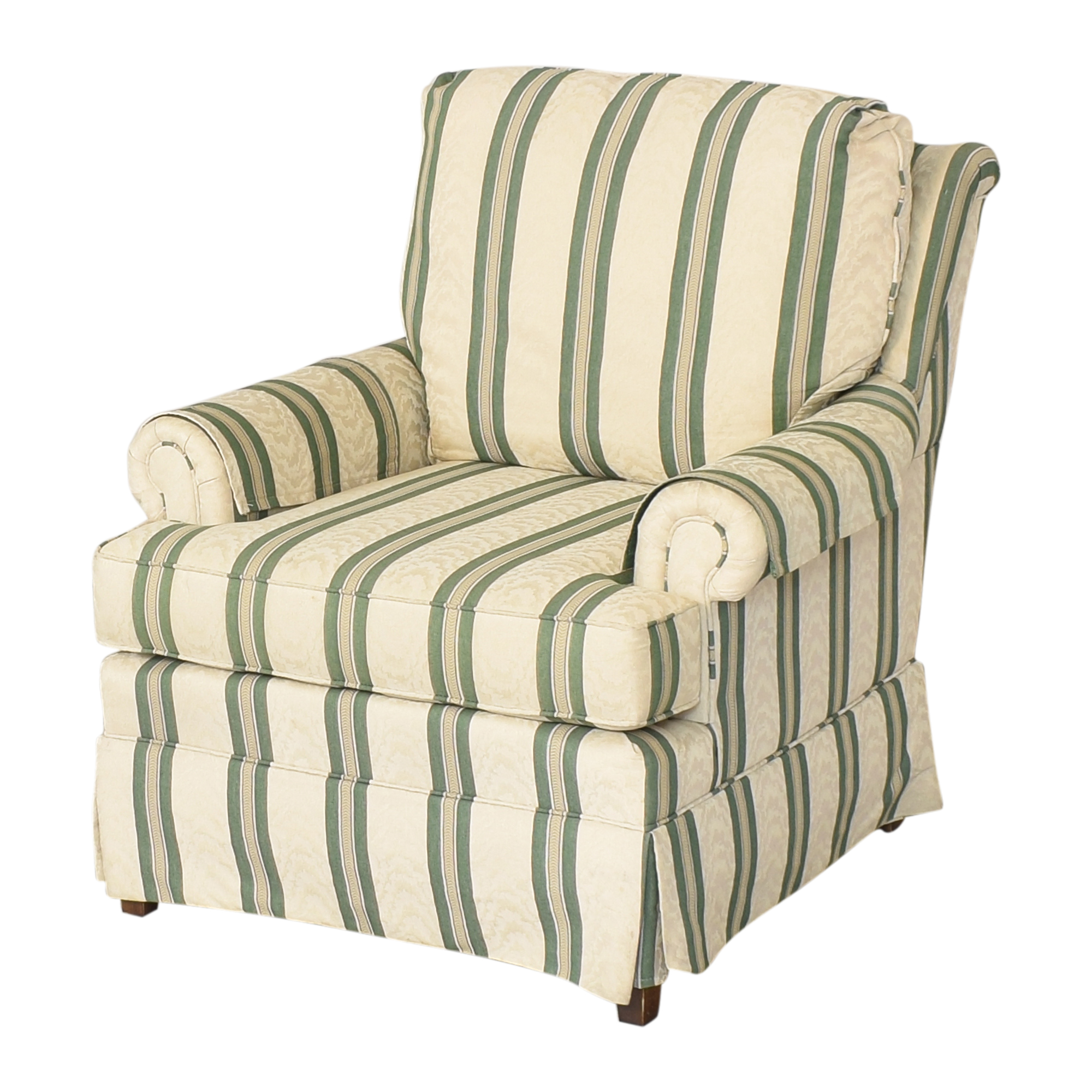 Pembrook Chair Pembrook Chair Upholstered Accent Chair and Ottoman Accent Chairs