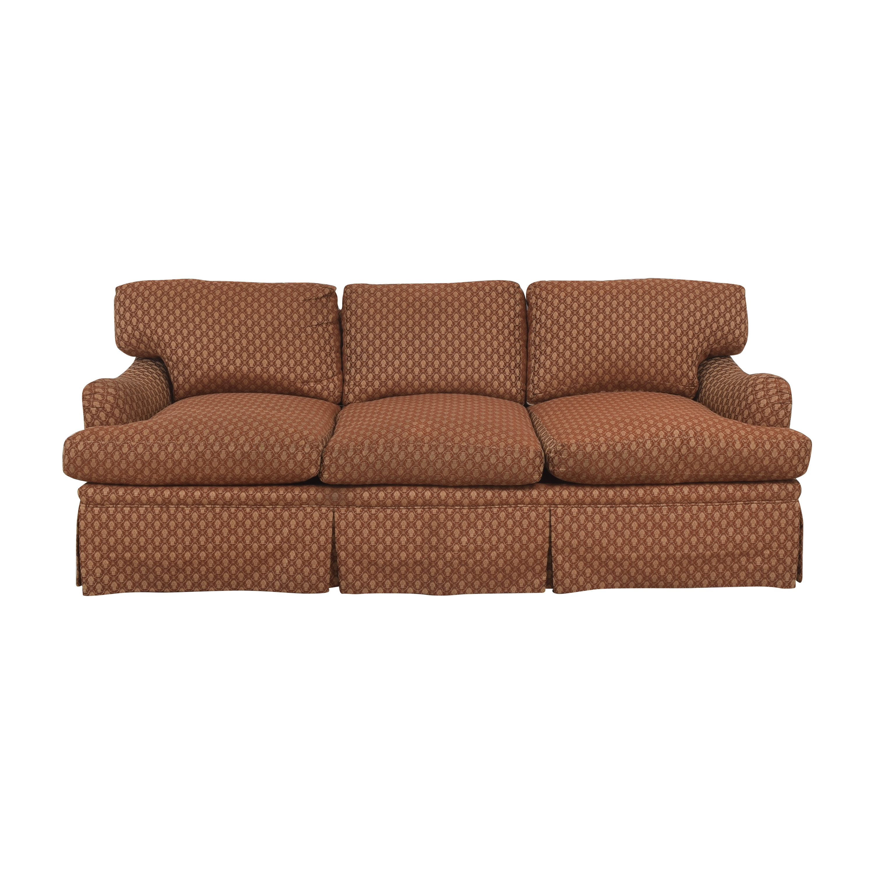 buy Three Cushion Skirted Sofa with Pillows  Classic Sofas