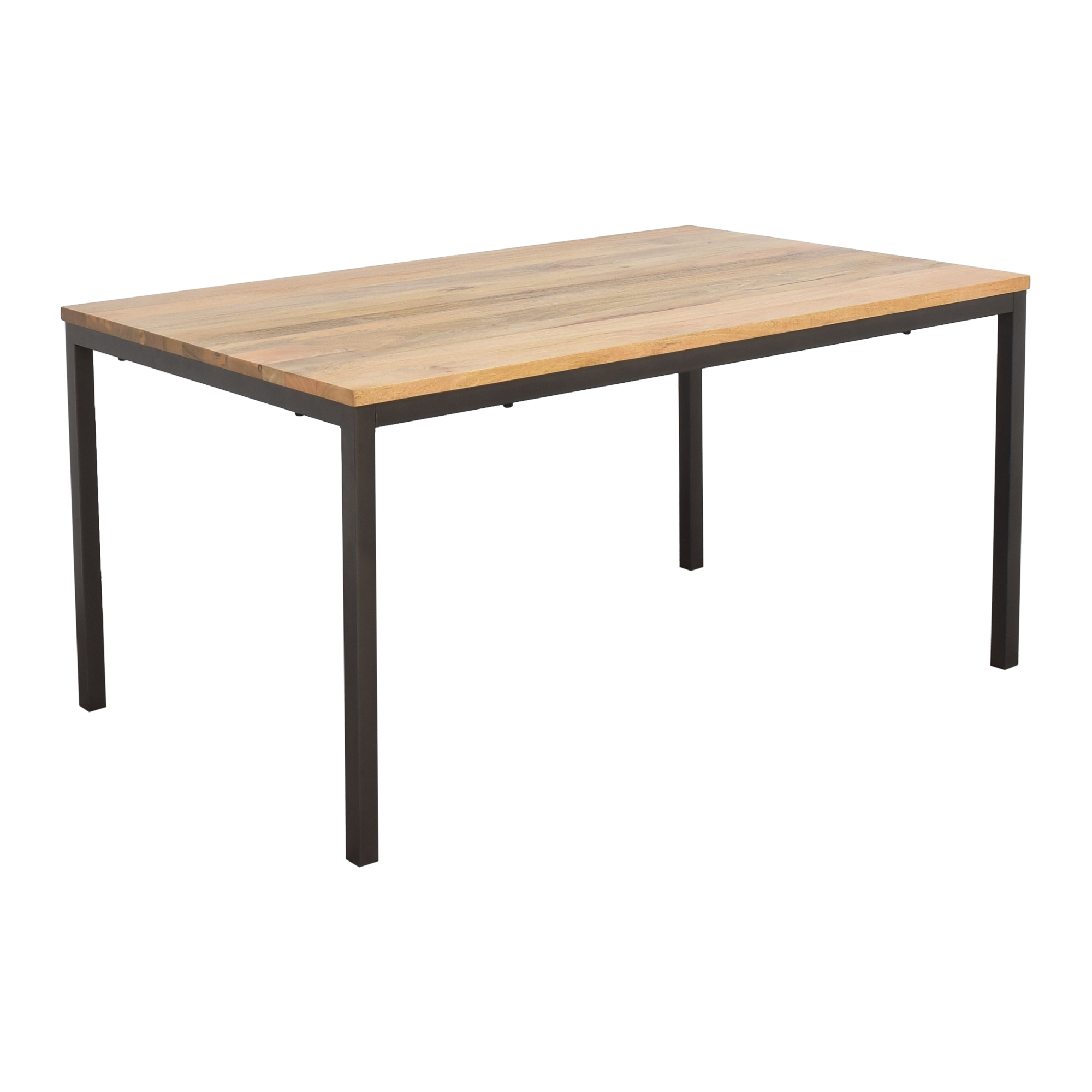 buy West Elm Box Frame Dining Table West Elm Dinner Tables