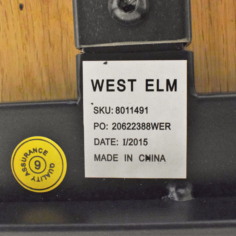 West Elm West Elm Industrial Dining Table for sale