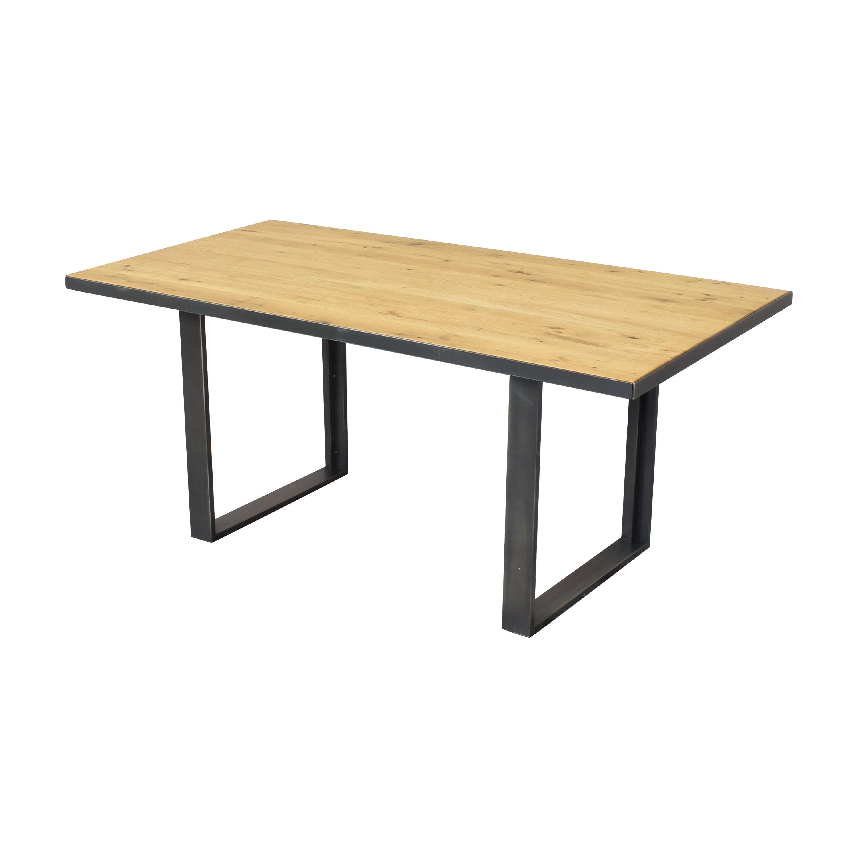 West Elm West Elm Industrial Dining Table on sale