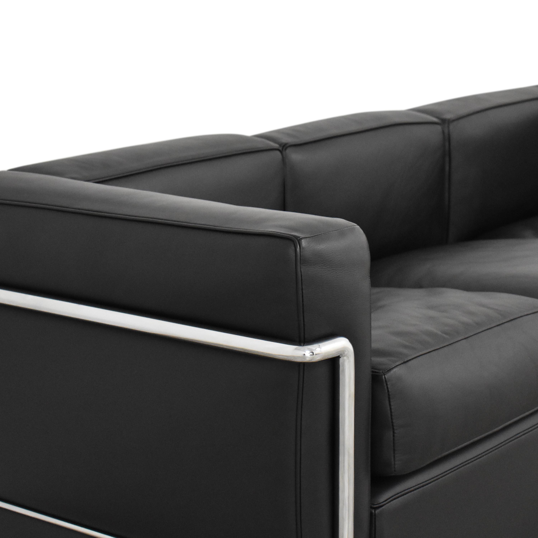 Cassina Le Corbusier LC2 Three Cushion Sofa sale