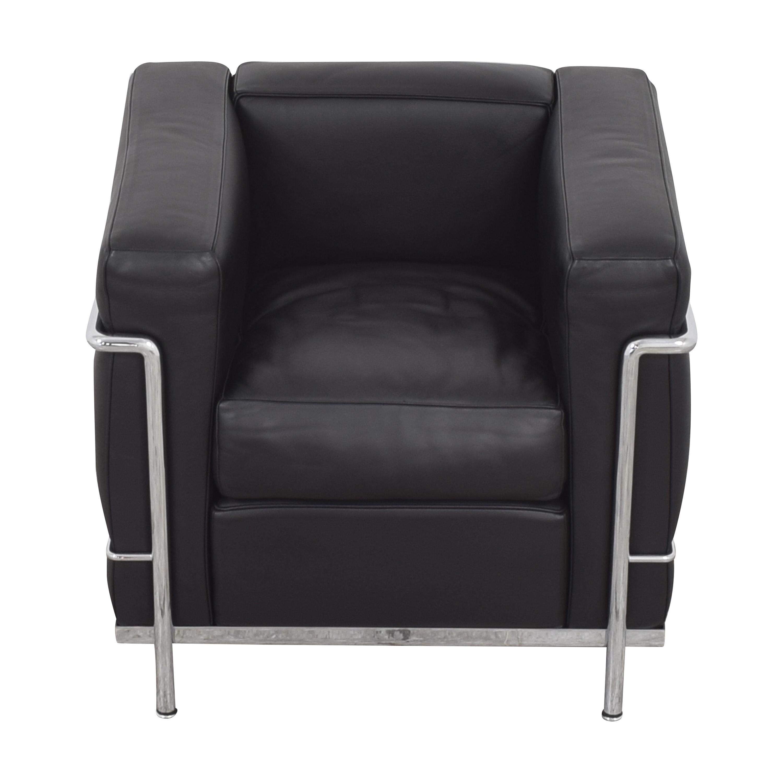 buy Cassina Le Corbusier LC2 Poltrona Armchair  Cassina