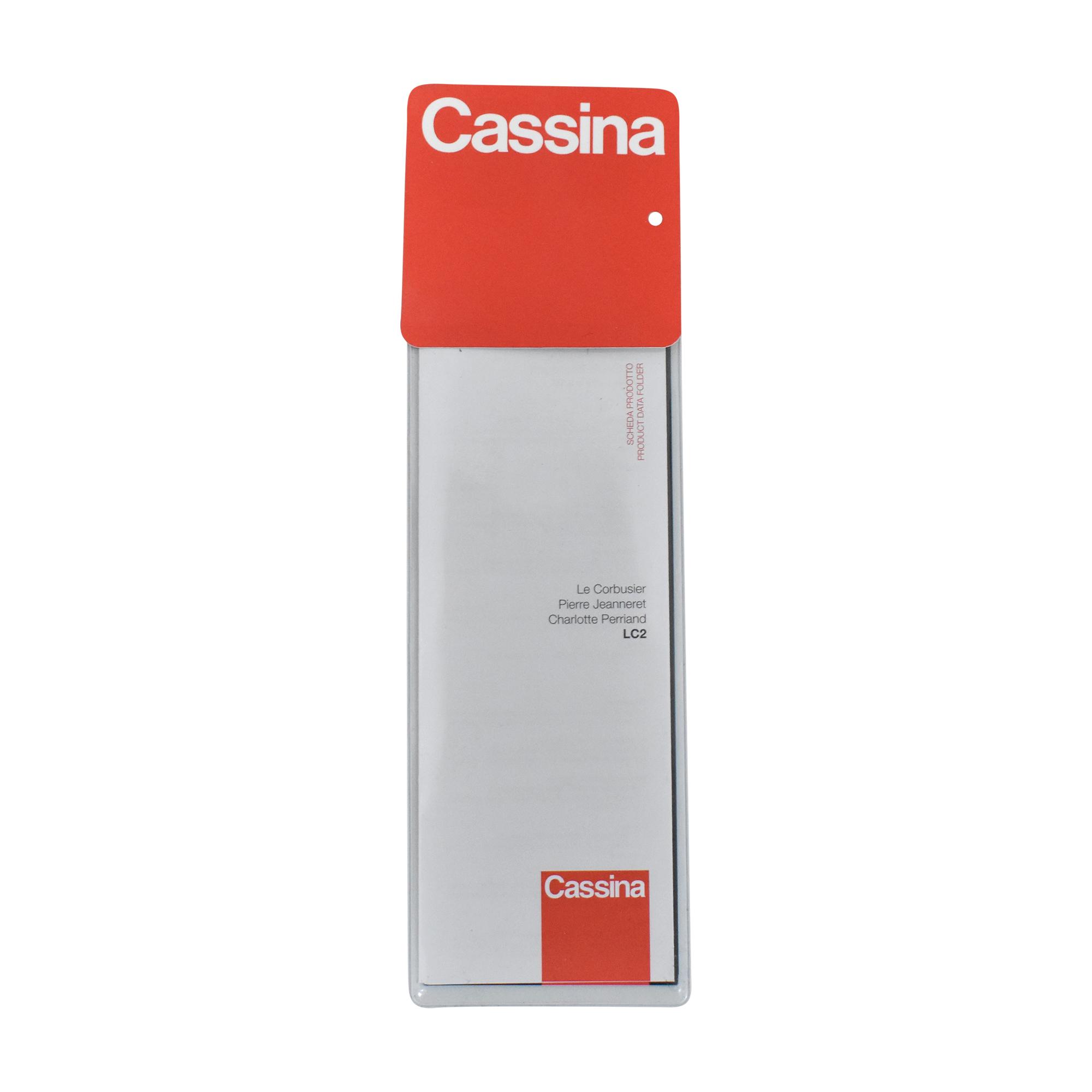 Cassina Cassina Le Corbusier LC2 Poltrona Armchair  dimensions