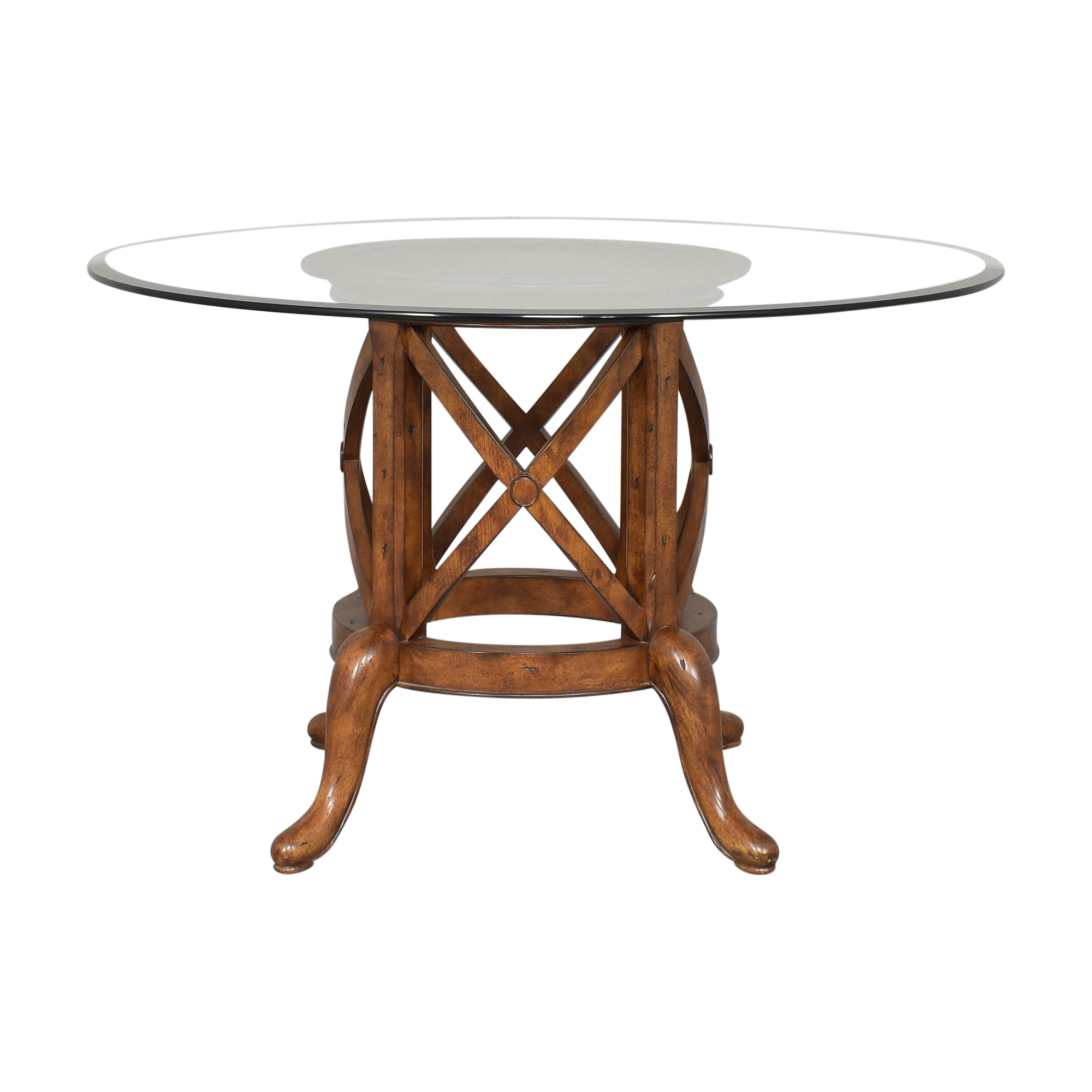 Thomasville Thomasville Round Dining Table Dinner Tables