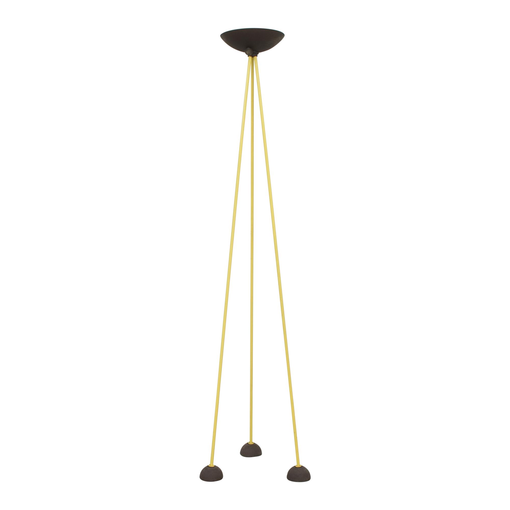 Koch & Lowy Koch & Lowy Torchiere Floor Tripod Lamp nj