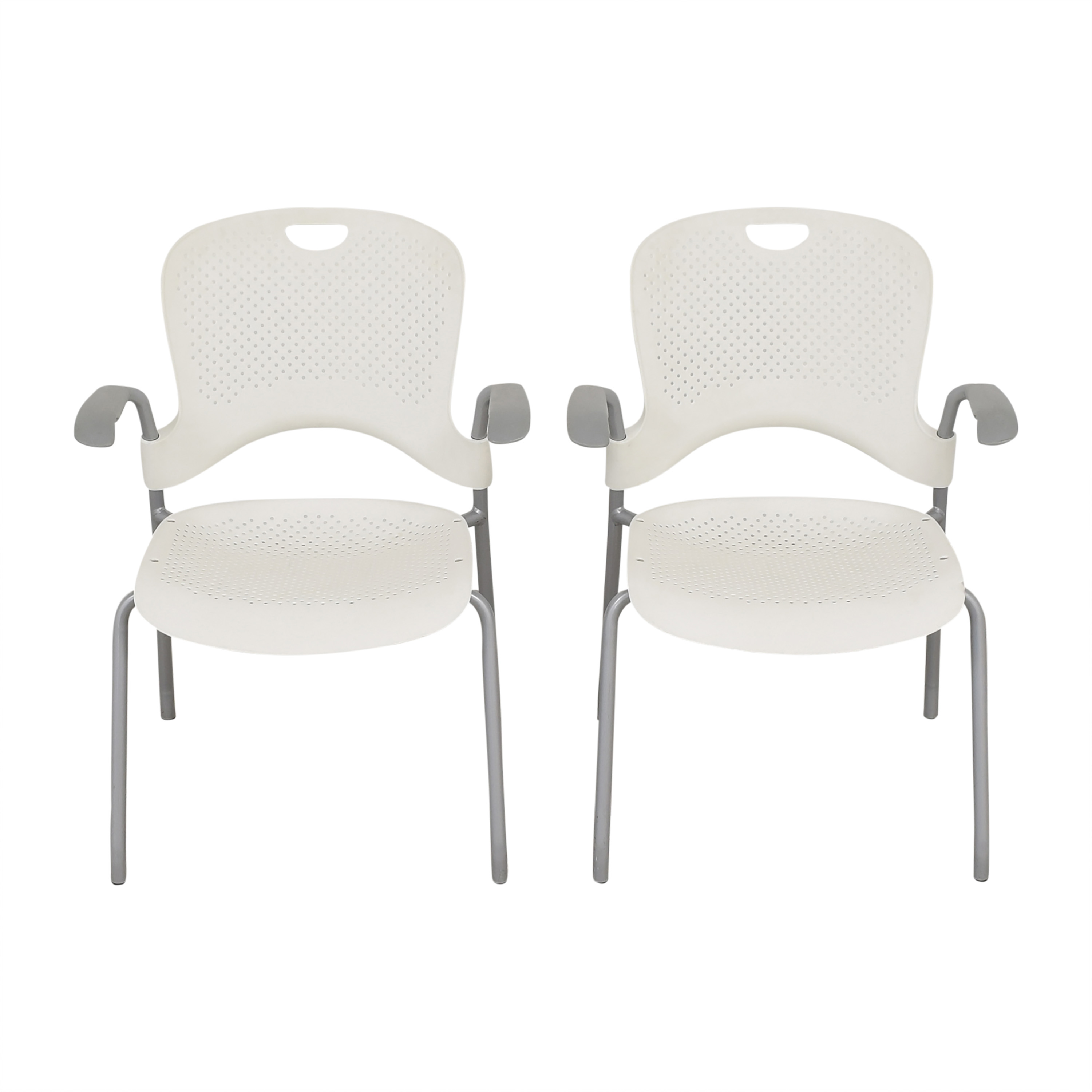 Herman Miller Caper Stacking Chairs / Home Office Chairs