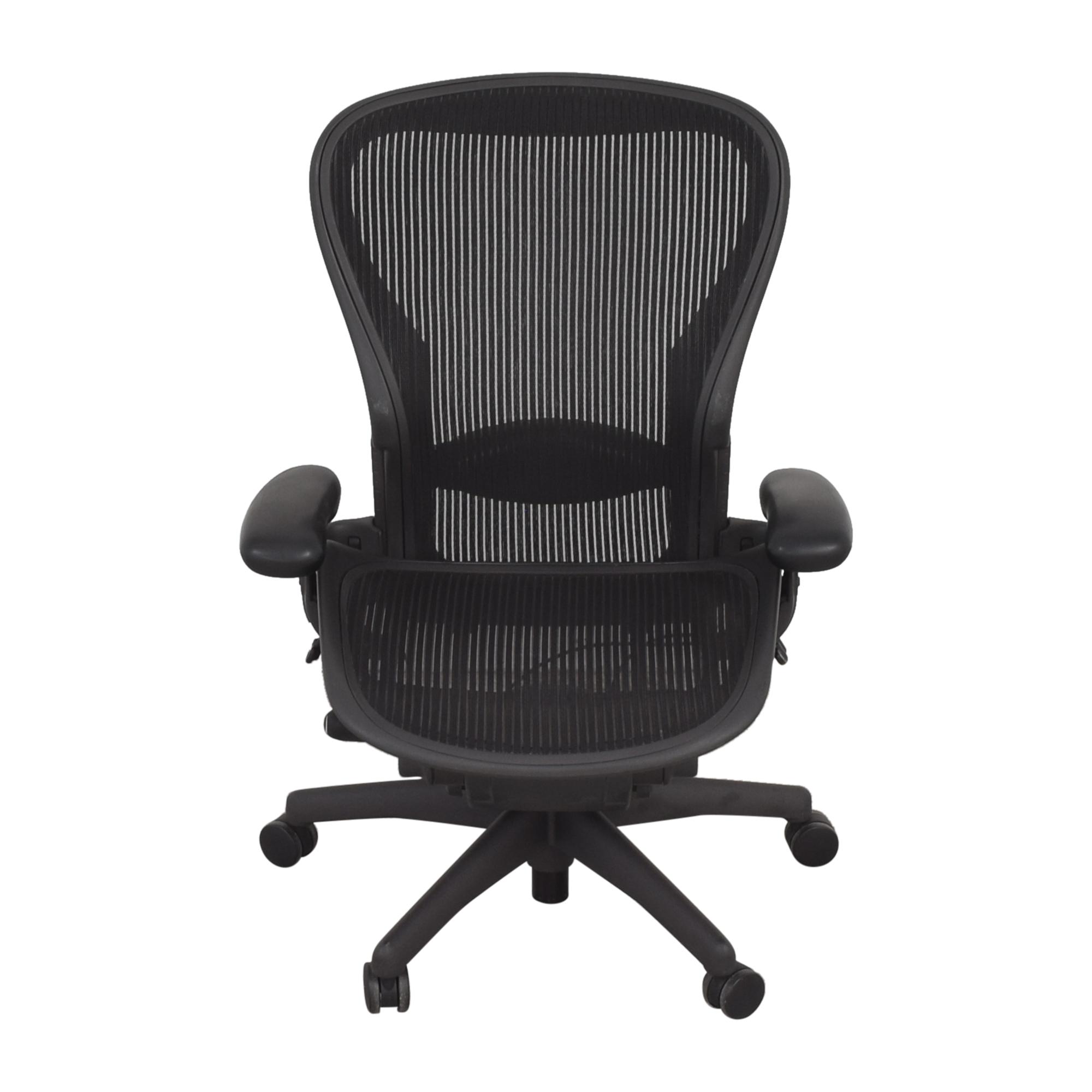shop Herman Miller Size C Aeron Chair Herman Miller