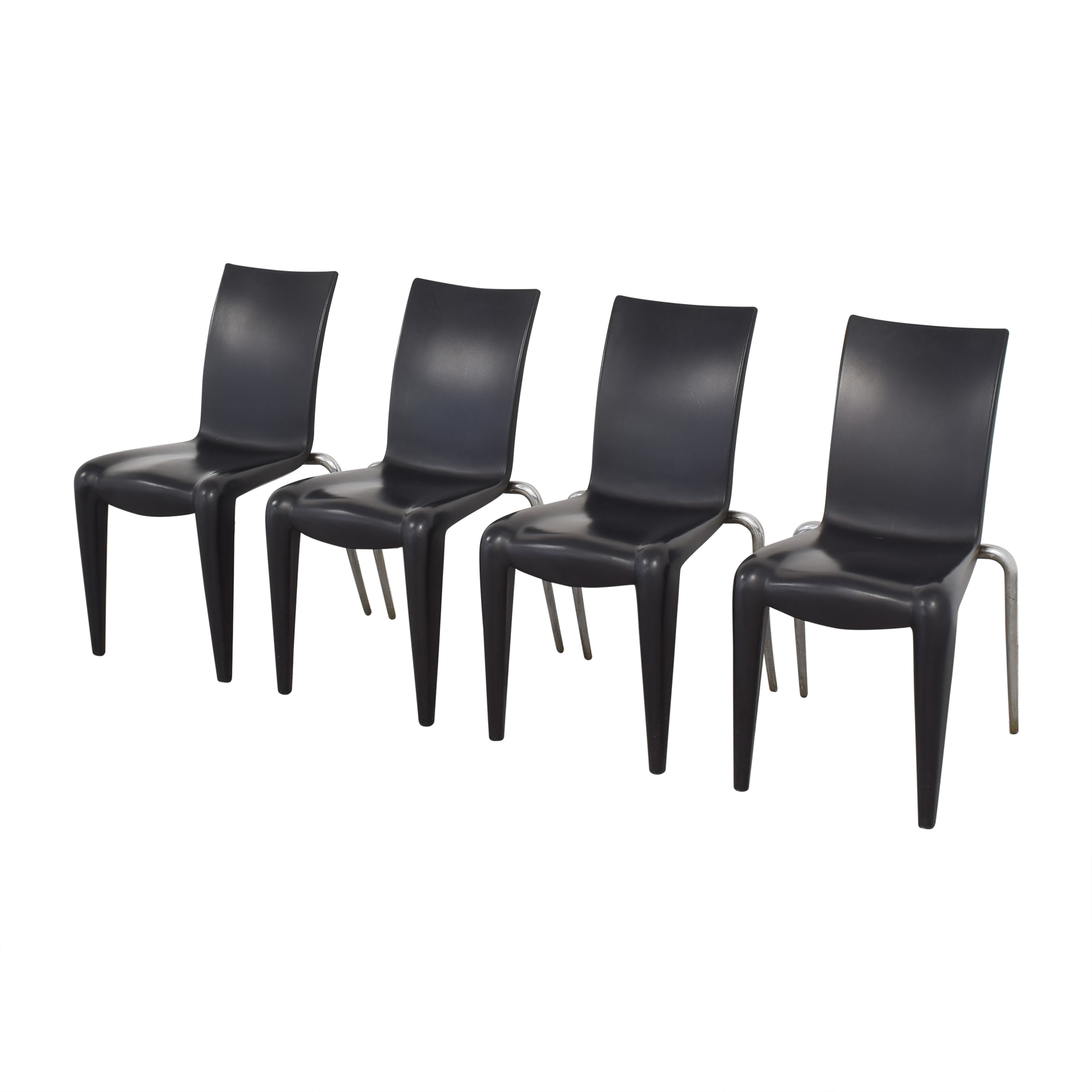 Vitra Vitra Louis 20 Dining Chairs by Phillipe Starck nj