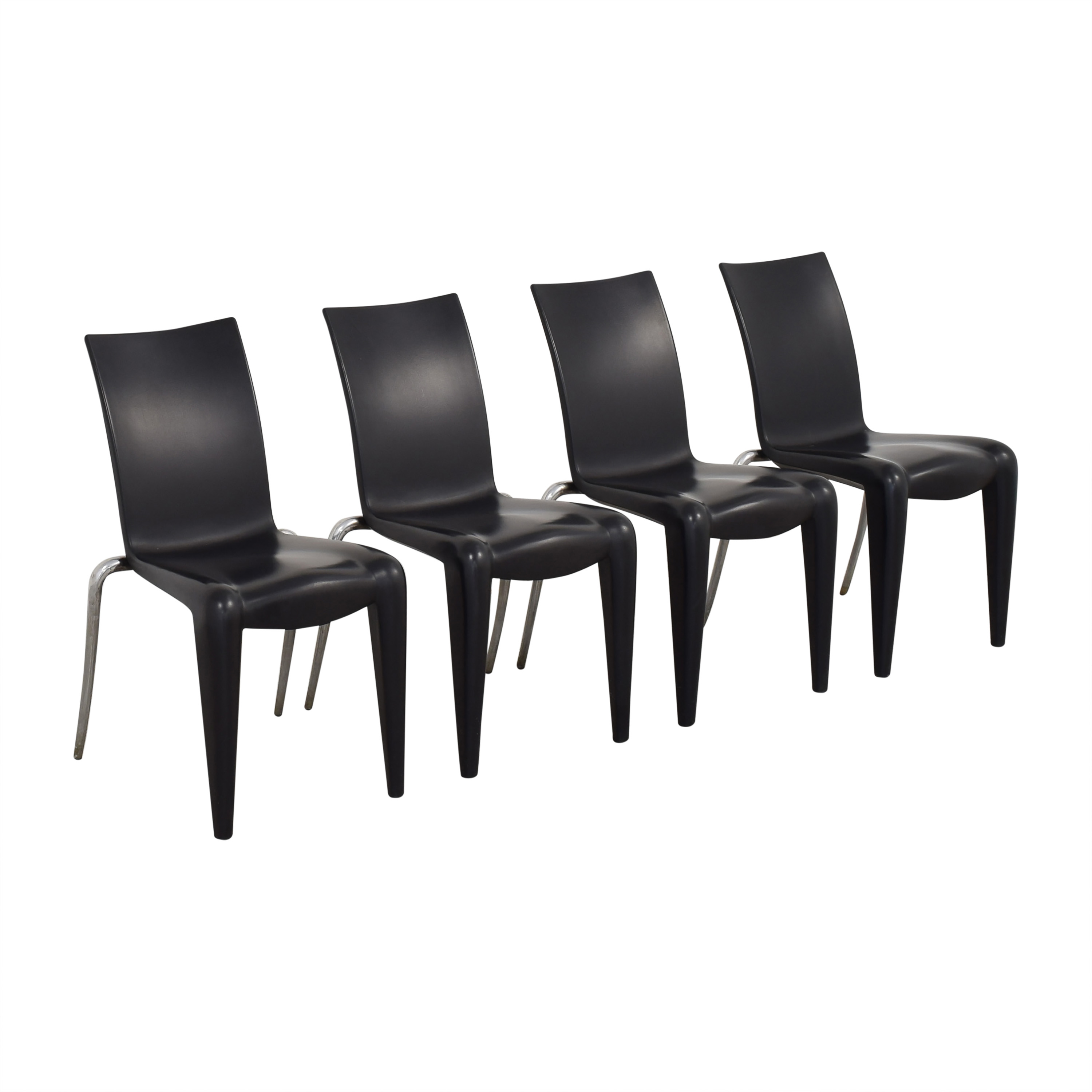 Vitra Vitra Louis 20 Dining Chairs by Phillipe Starck for sale